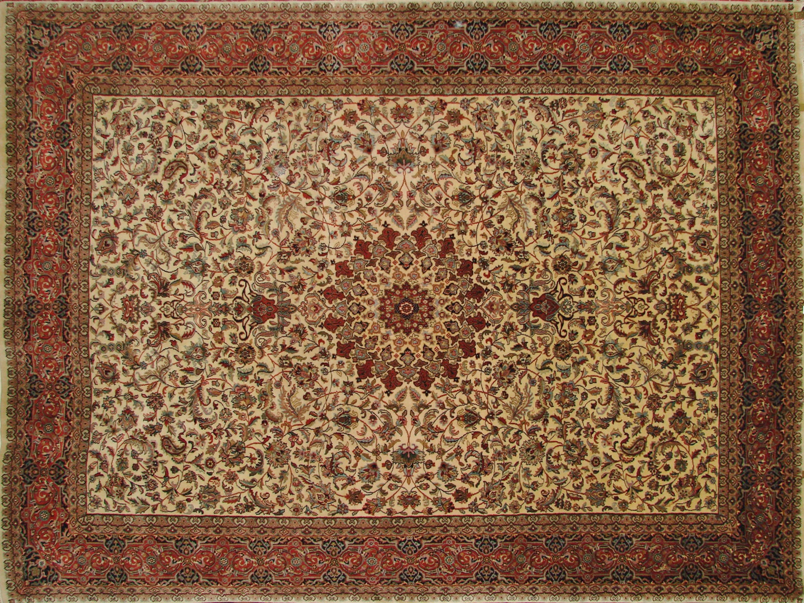 8x10 Traditional Hand Knotted Wool Area Rug - MR0985