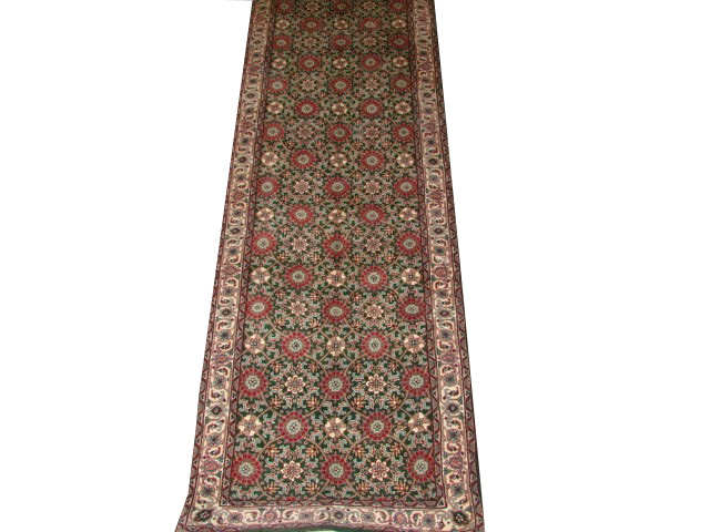 13 ft. & Longer Runner Traditional Hand Knotted Wool Area Rug - MR1020