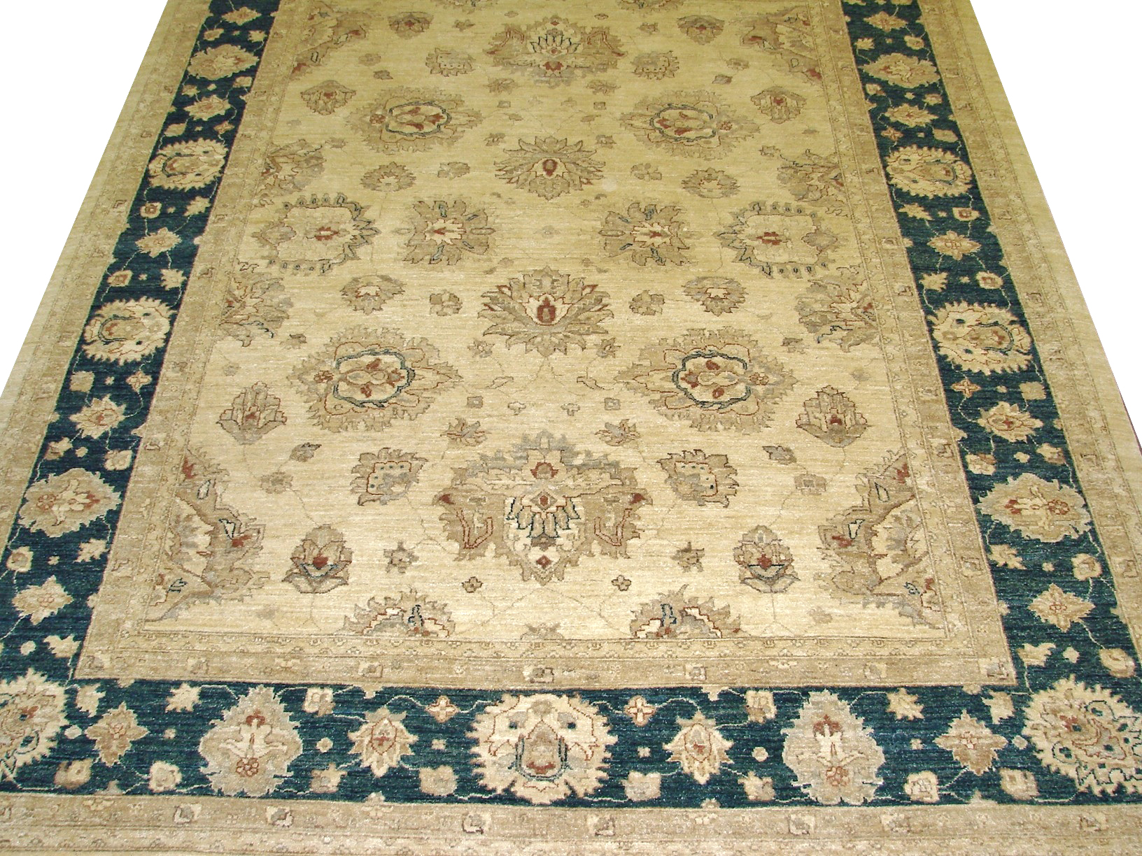 8x10 Peshawar Hand Knotted Wool Area Rug - MR10606