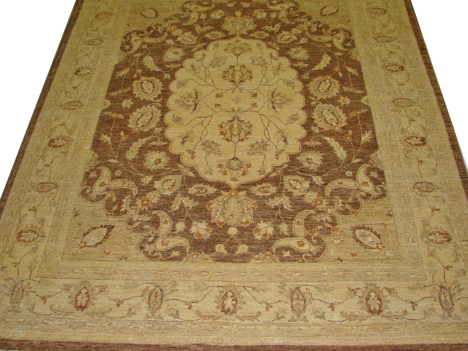 8x10 Peshawar Hand Knotted Wool Area Rug - MR10609