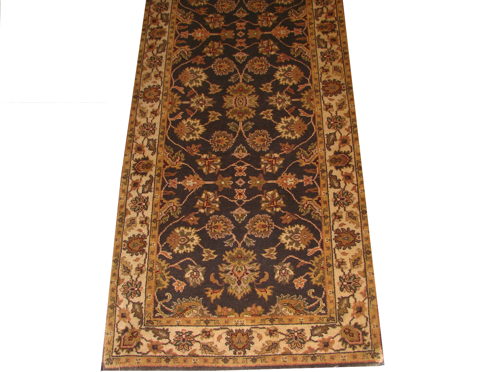 10 ft. Runner Traditional Hand Knotted Wool Area Rug - MR1066