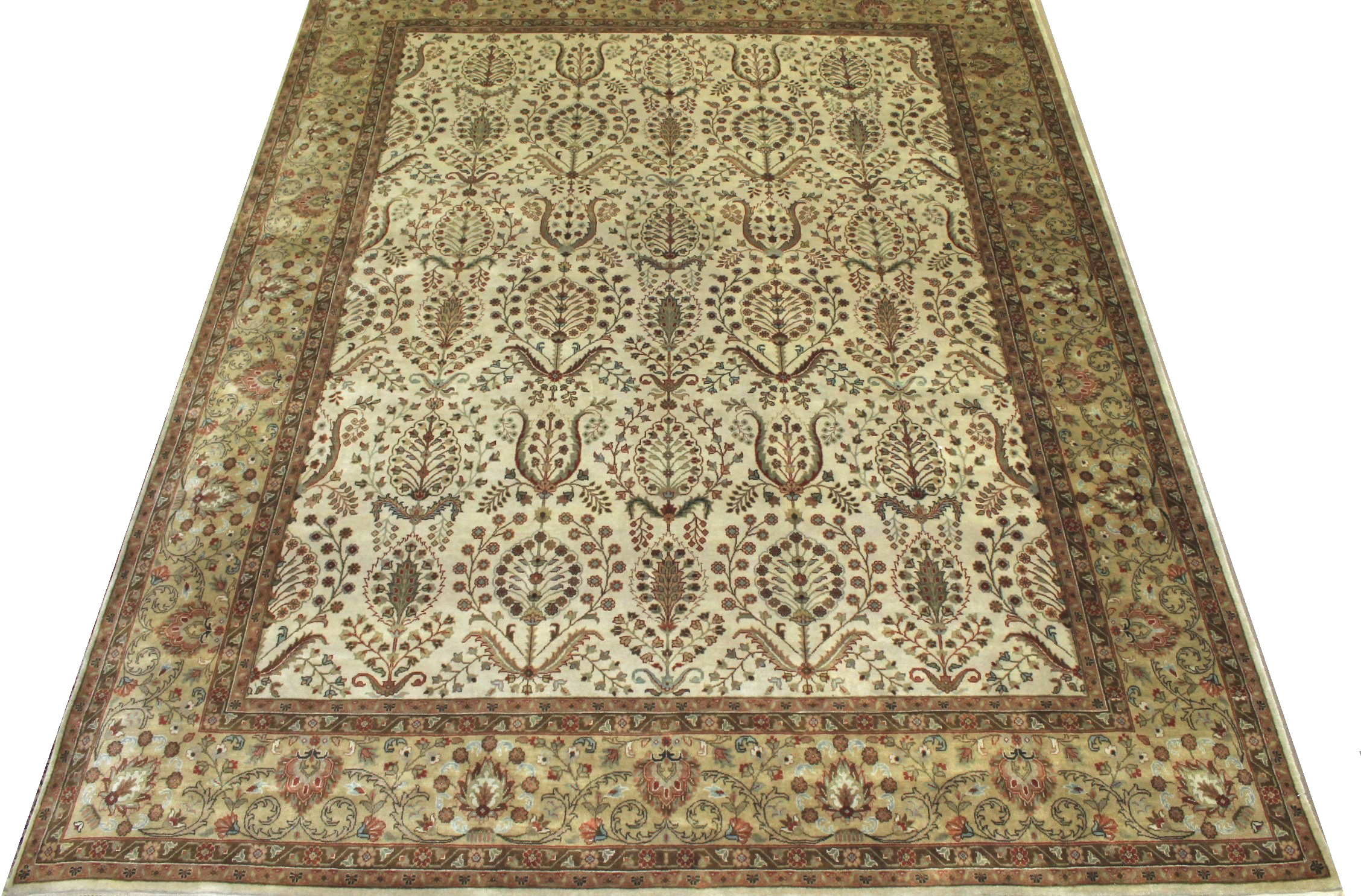 8x10 Traditional Hand Knotted Wool Area Rug - MR11162