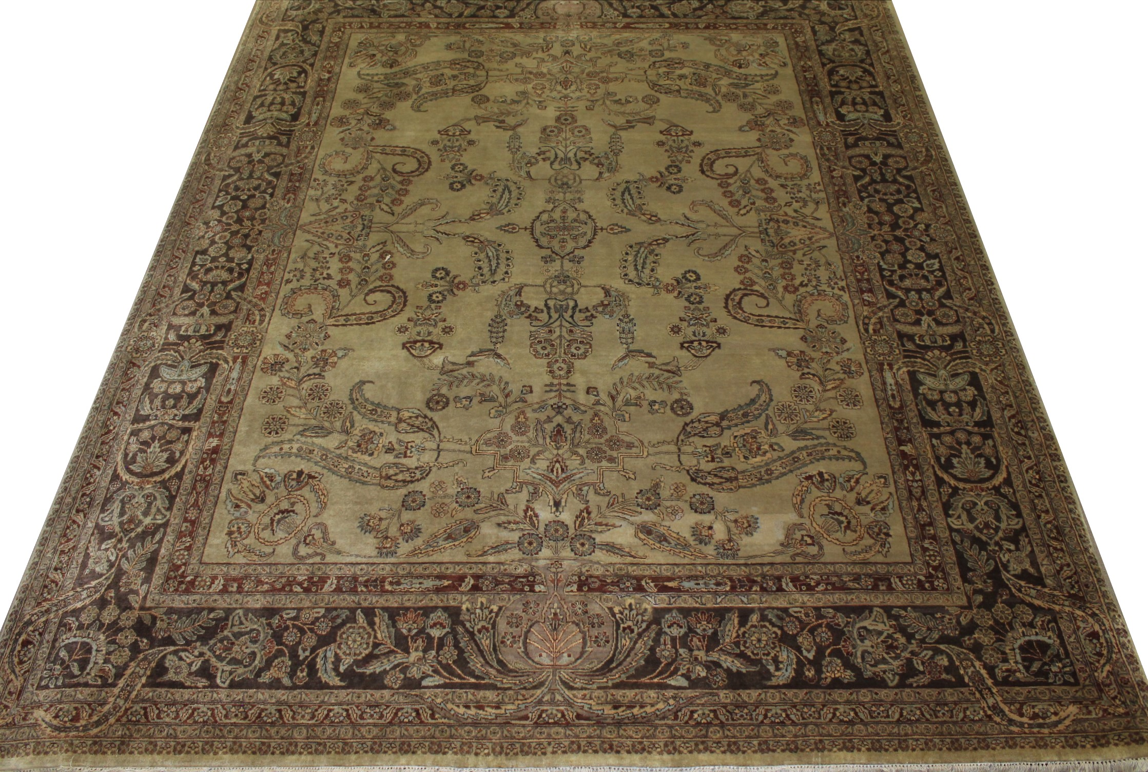 8x10 Traditional Hand Knotted Wool Area Rug - MR11166