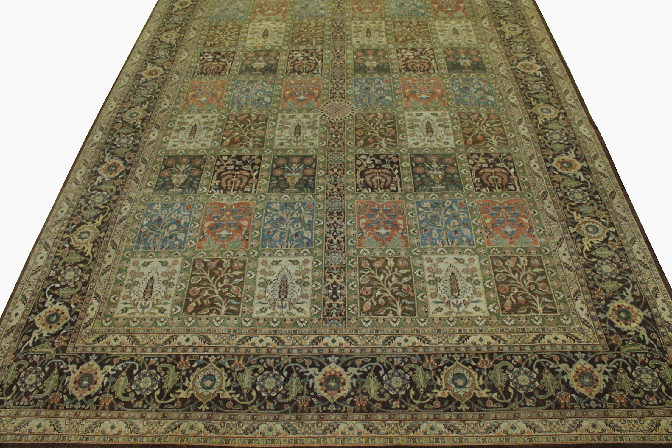9x12 Traditional Hand Knotted Wool Area Rug - MR11171