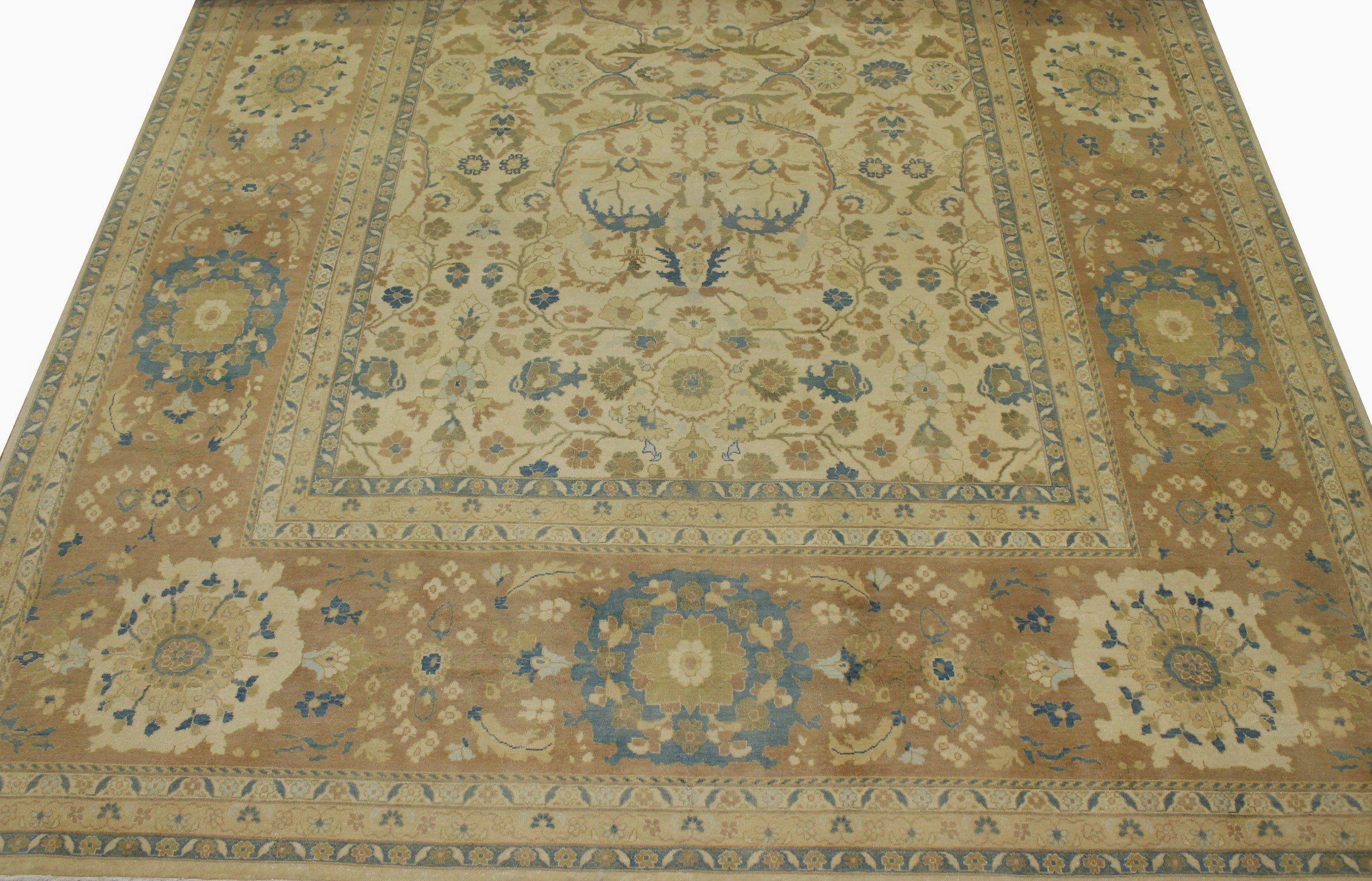 10x14 Antique Revival Hand Knotted Wool Area Rug - MR11216