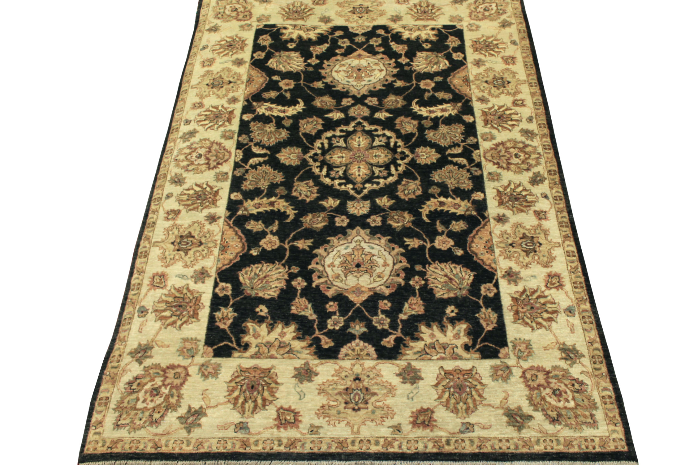 6x9 Traditional Hand Knotted Wool Area Rug - MR11370