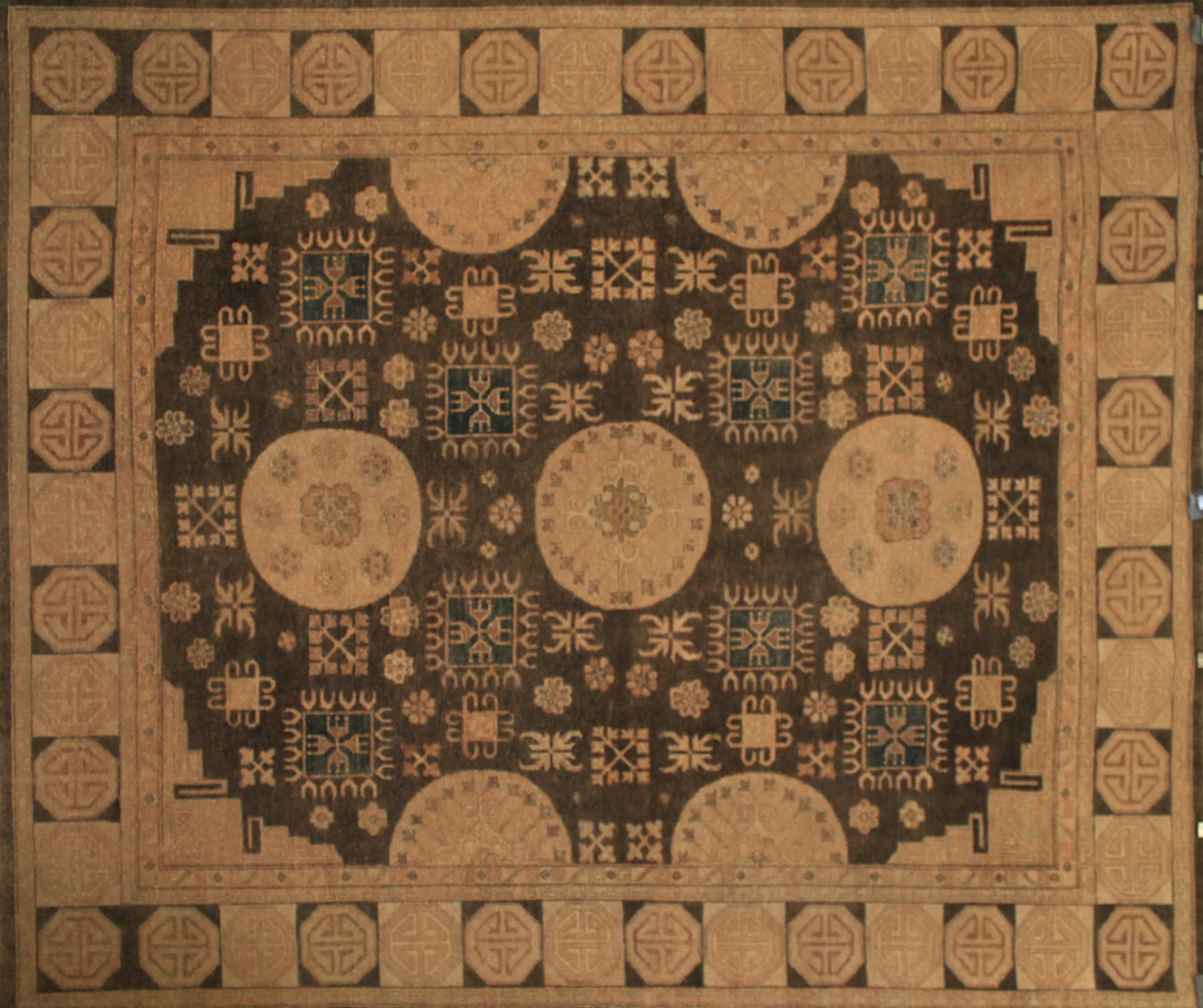 8x10 Traditional Hand Knotted Wool Area Rug - MR11493