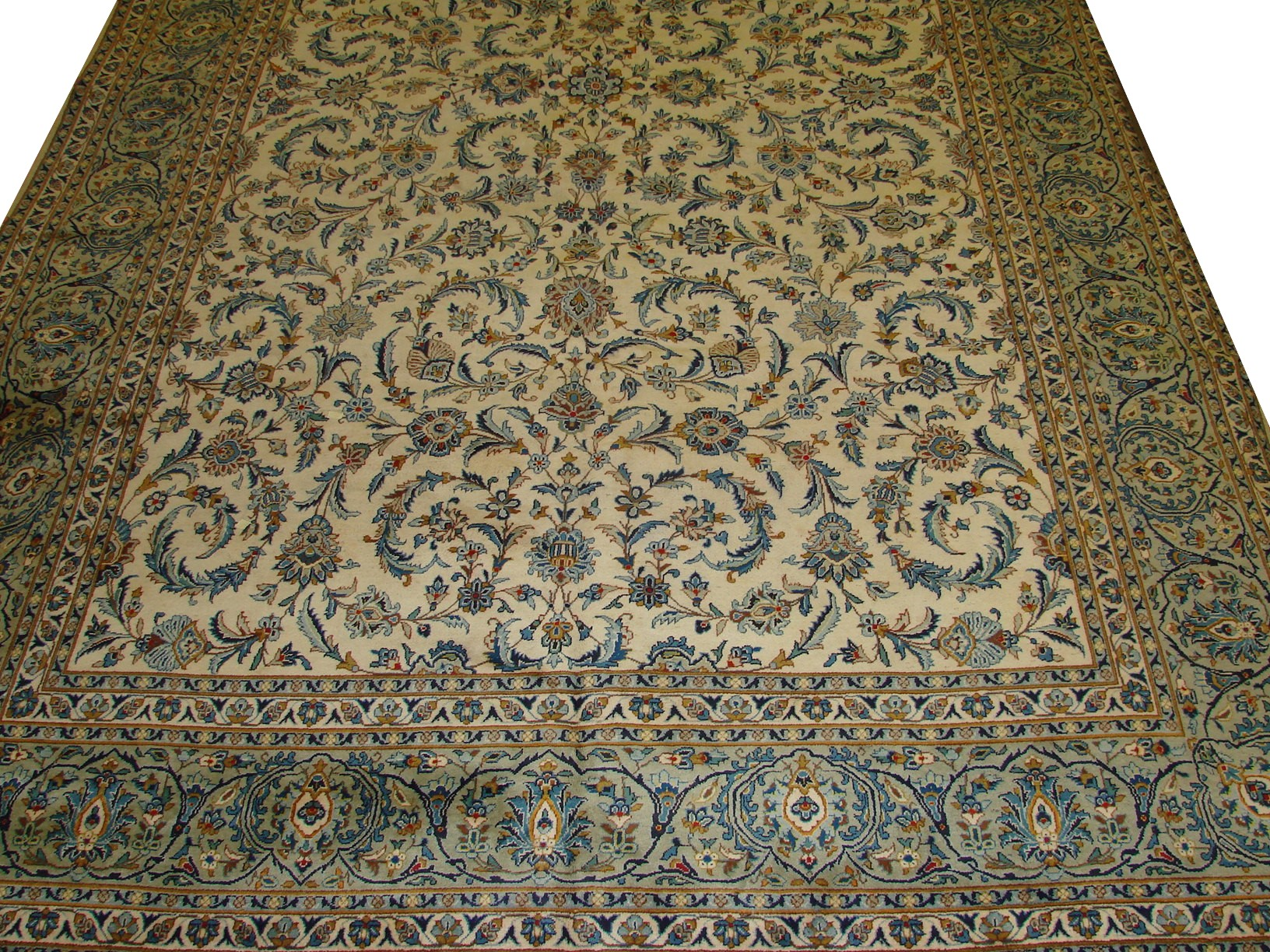 OVERSIZE Traditional Hand Knotted Wool Area Rug - MR11533