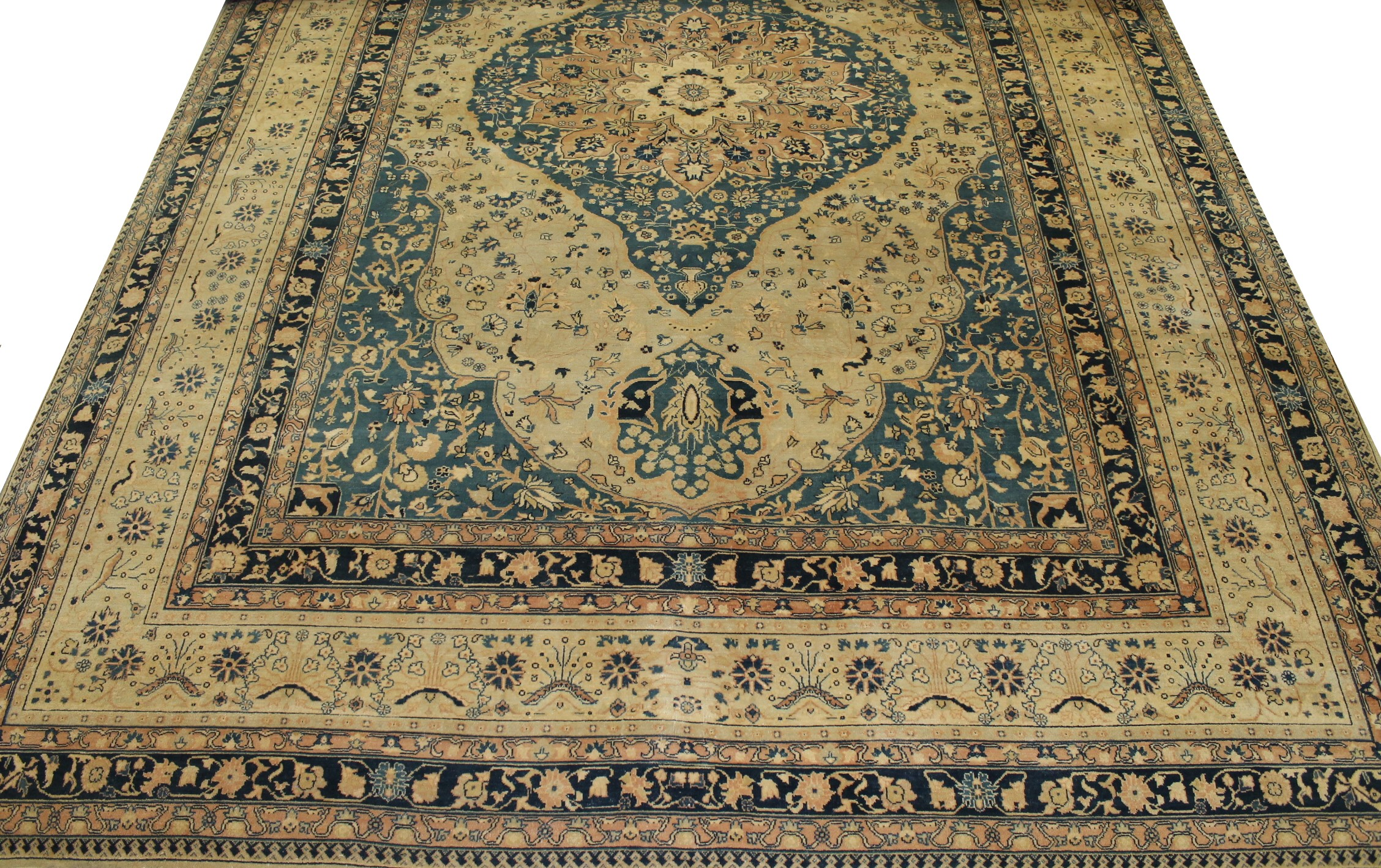 10x14 Aryana & Antique Revivals Hand Knotted Wool Area Rug - MR11540