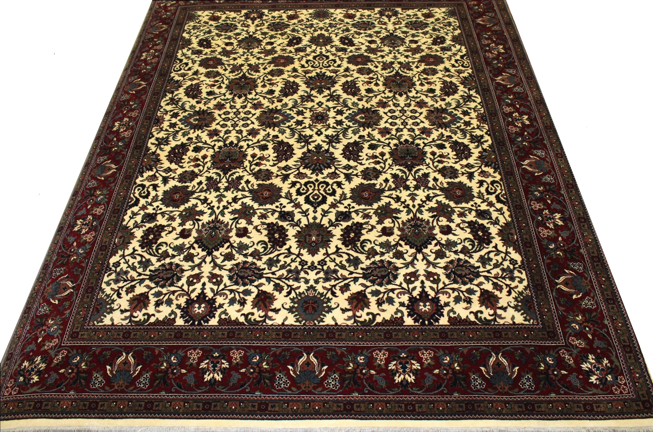 8x10 Traditional Hand Knotted Wool Area Rug - MR11571