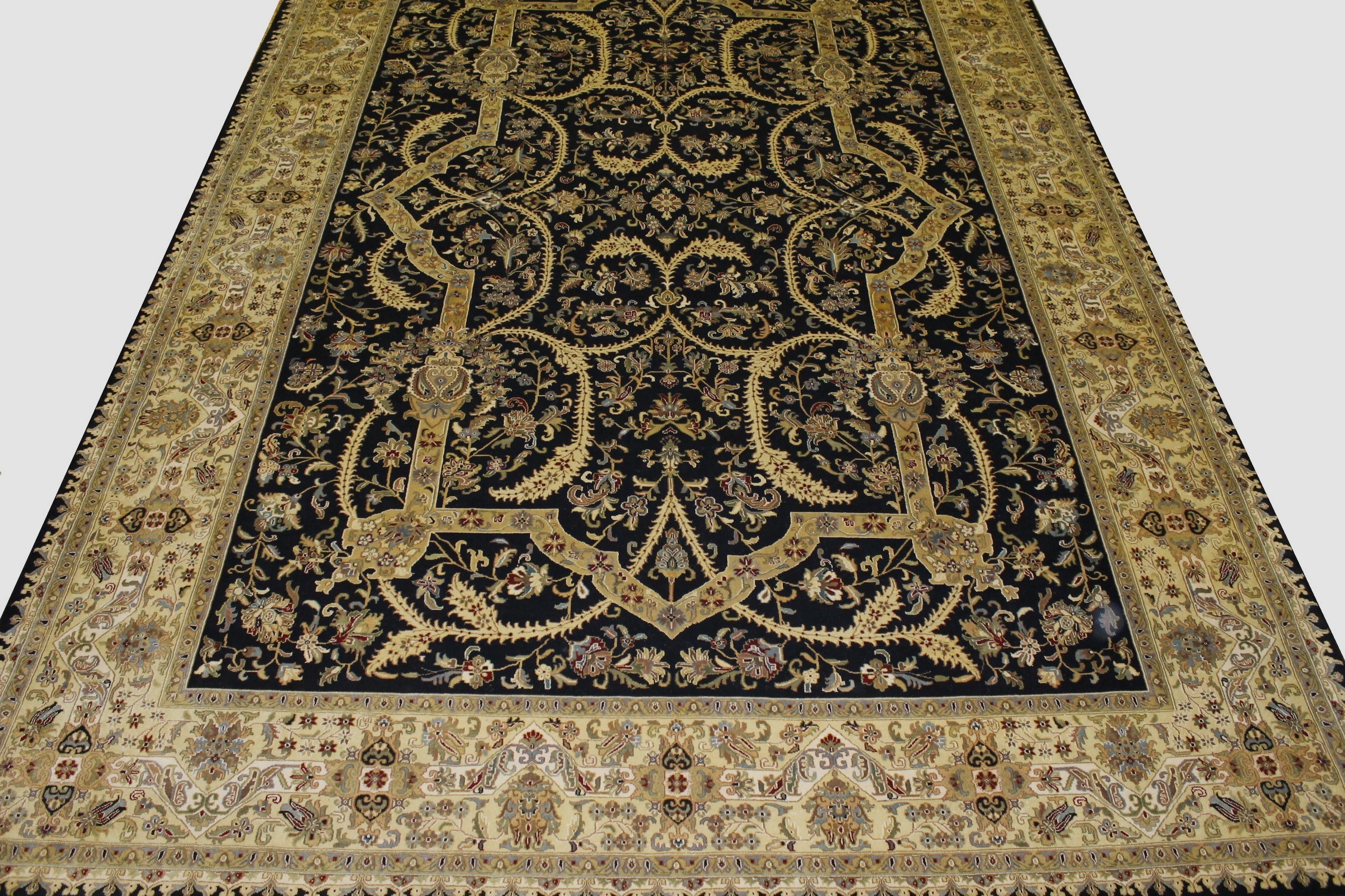 10x14 Traditional Hand Knotted Wool Area Rug - MR11627