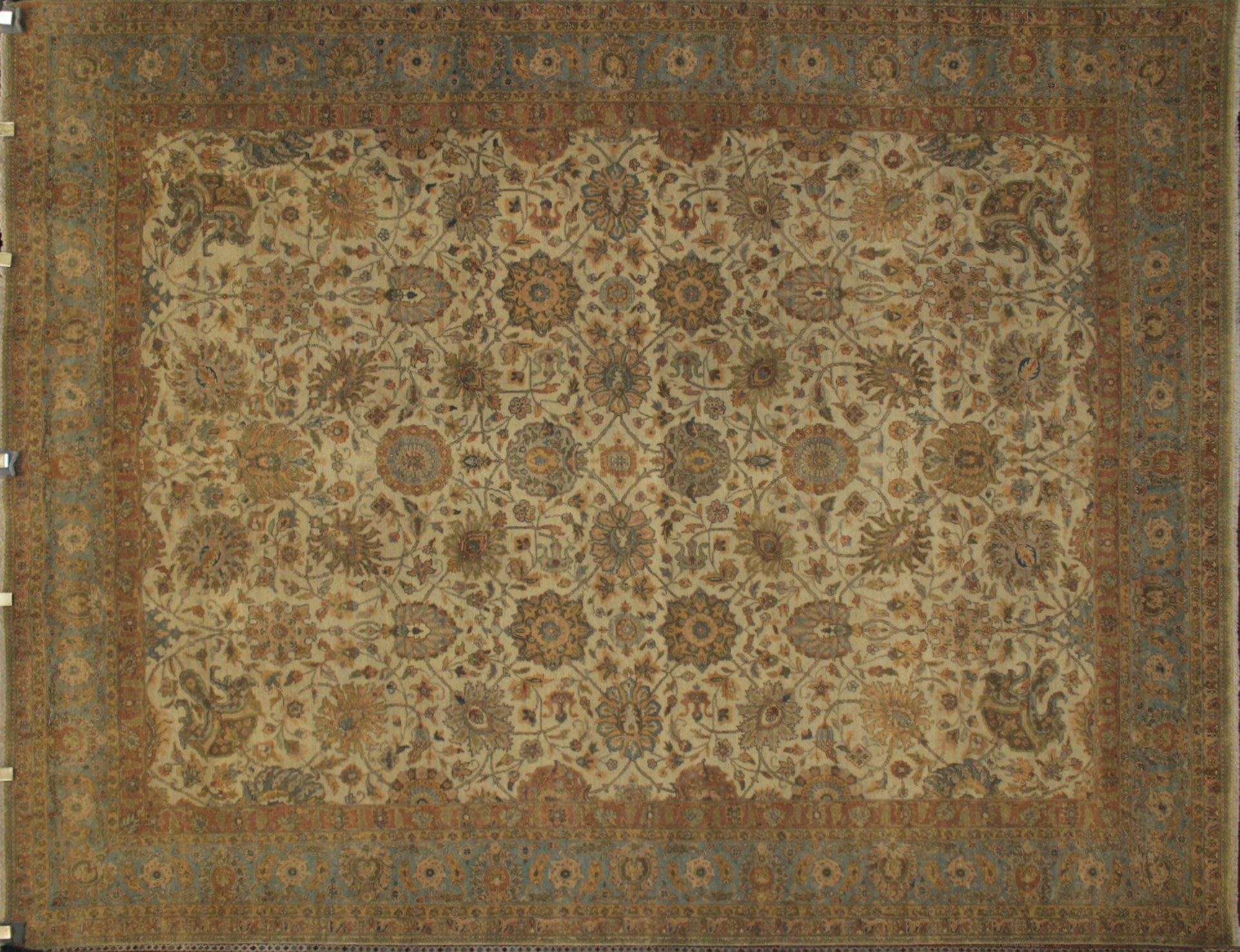 8x10 Antique Revival Hand Knotted Wool Area Rug - MR11665