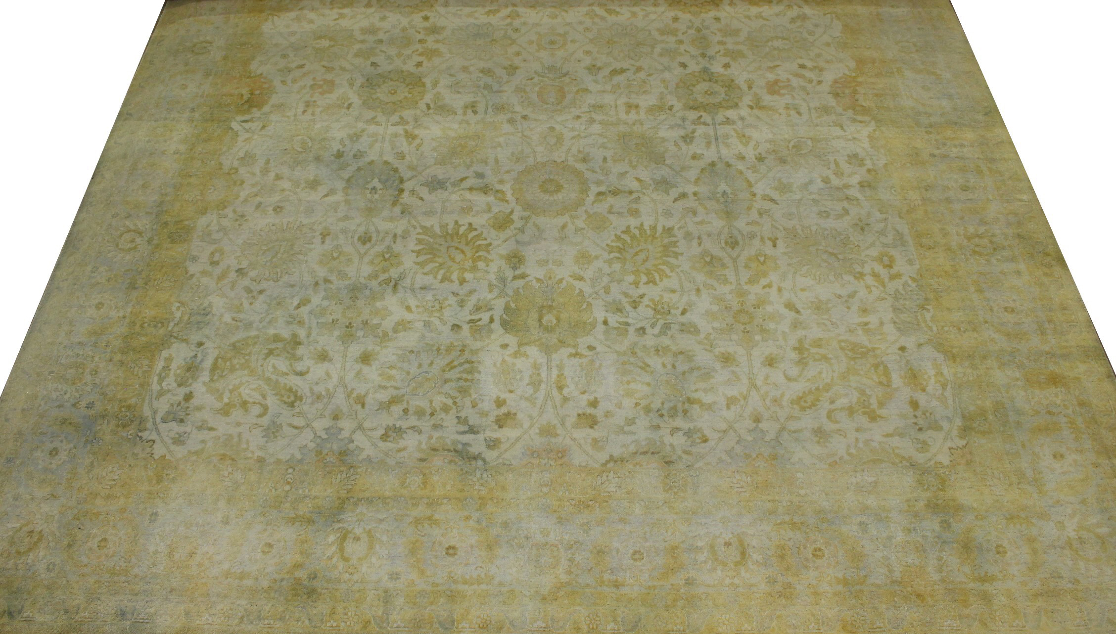 10x14 Antique Revival Hand Knotted Wool Area Rug - MR11668