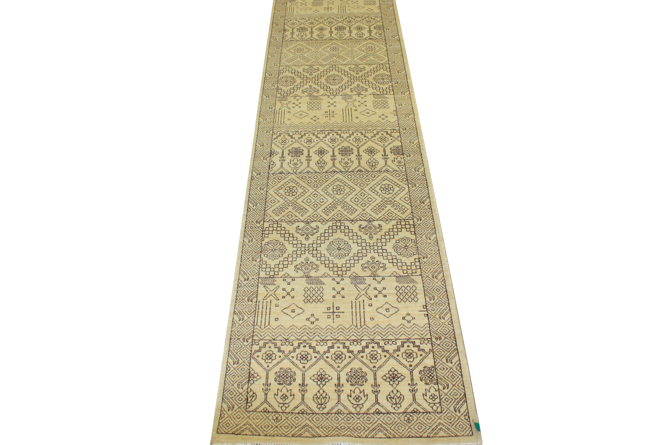 13 ft. & Longer Runner Traditional Hand Knotted Wool Area Rug - MR11740