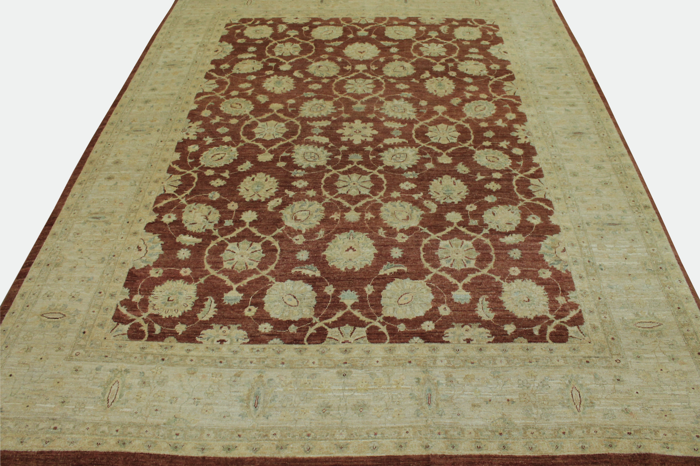 9x12 Peshawar Hand Knotted Wool Area Rug - MR11789