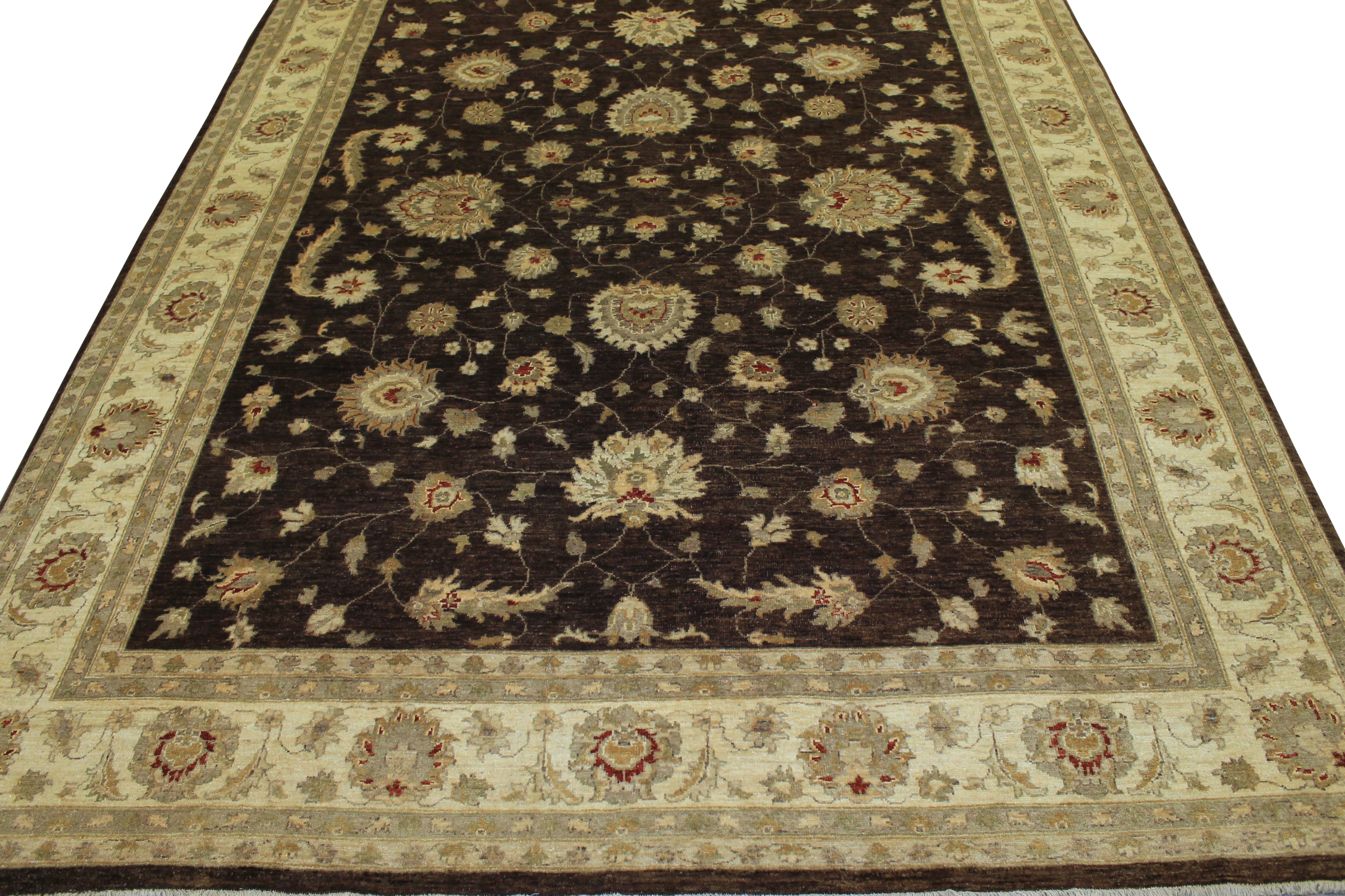9x12 Peshawar Hand Knotted Wool Area Rug - MR11856