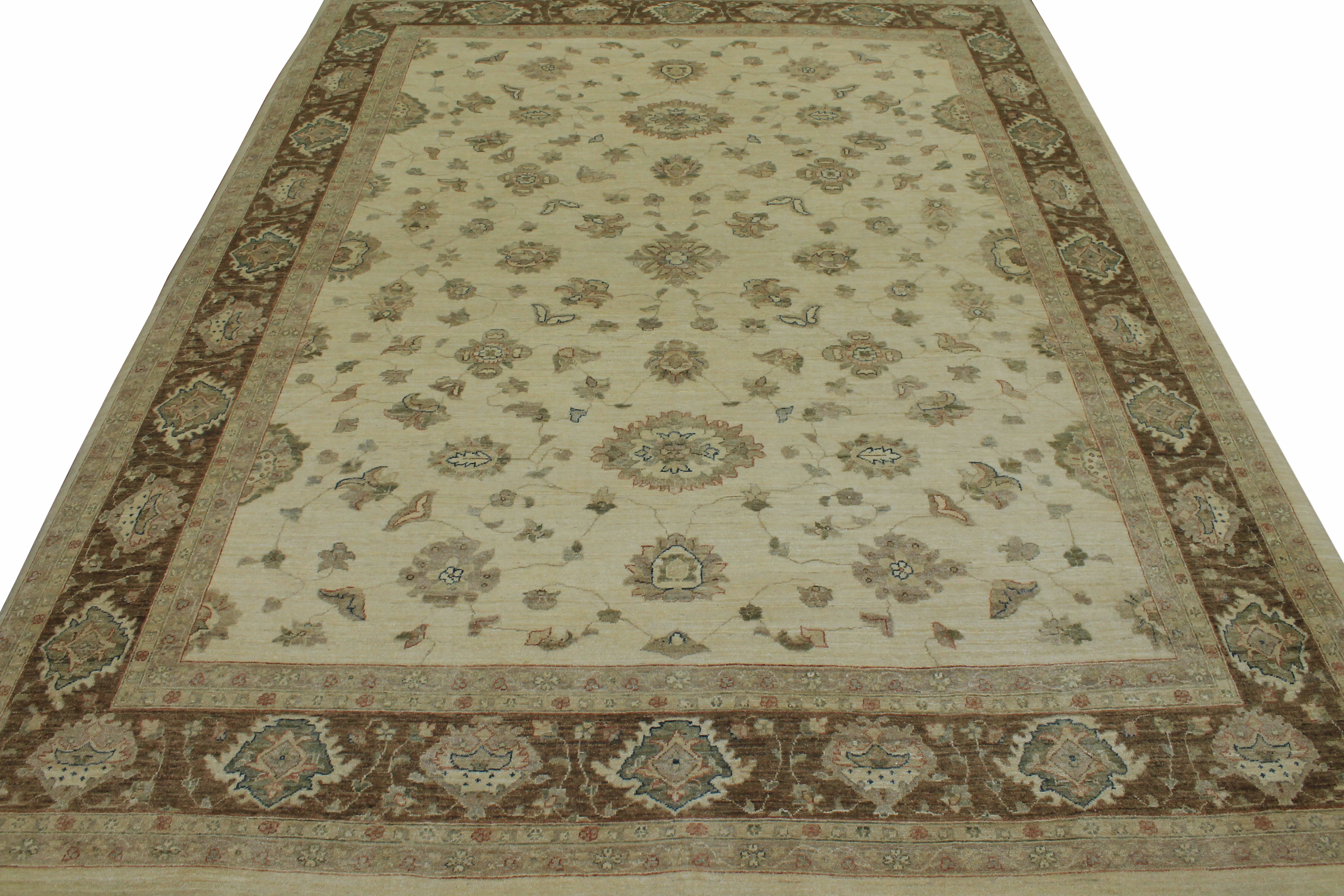 9x12 Peshawar Hand Knotted Wool Area Rug - MR11869