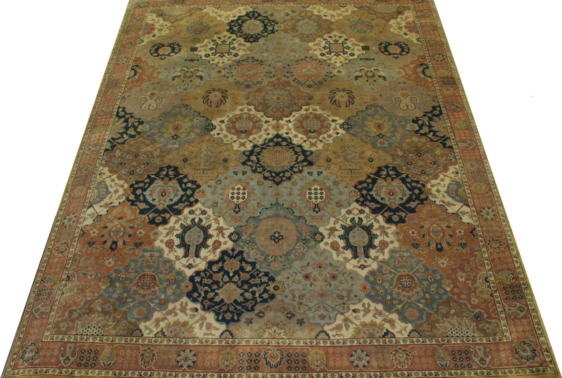 8x10 Antique Revival Hand Knotted Wool Area Rug - MR12083