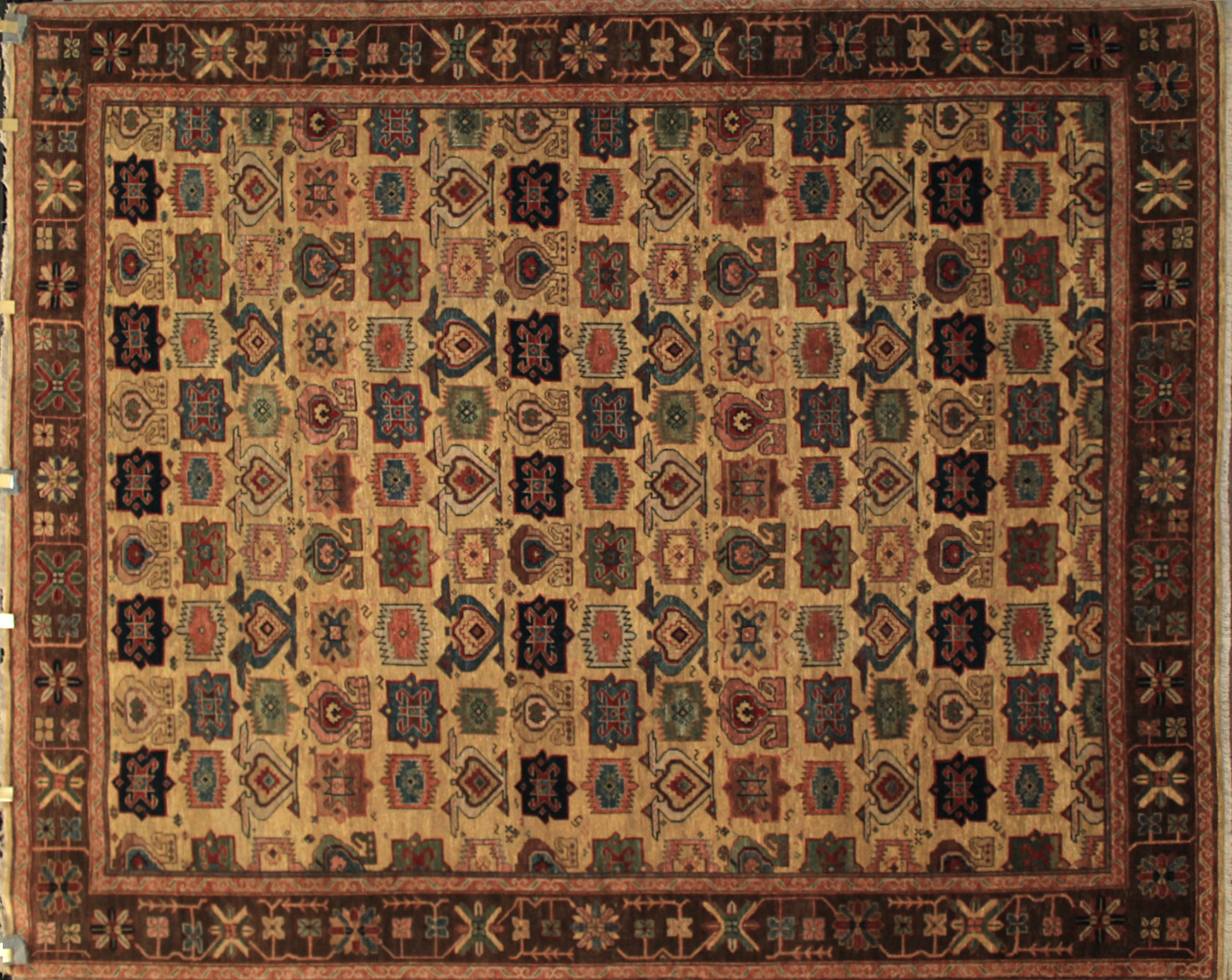 8x10 Traditional Hand Knotted Wool Area Rug - MR12170
