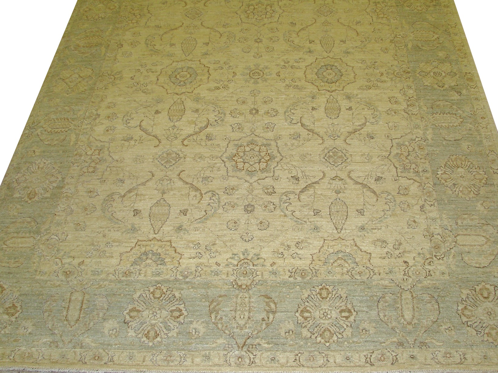 8x10 Peshawar Hand Knotted Wool Area Rug - MR12588