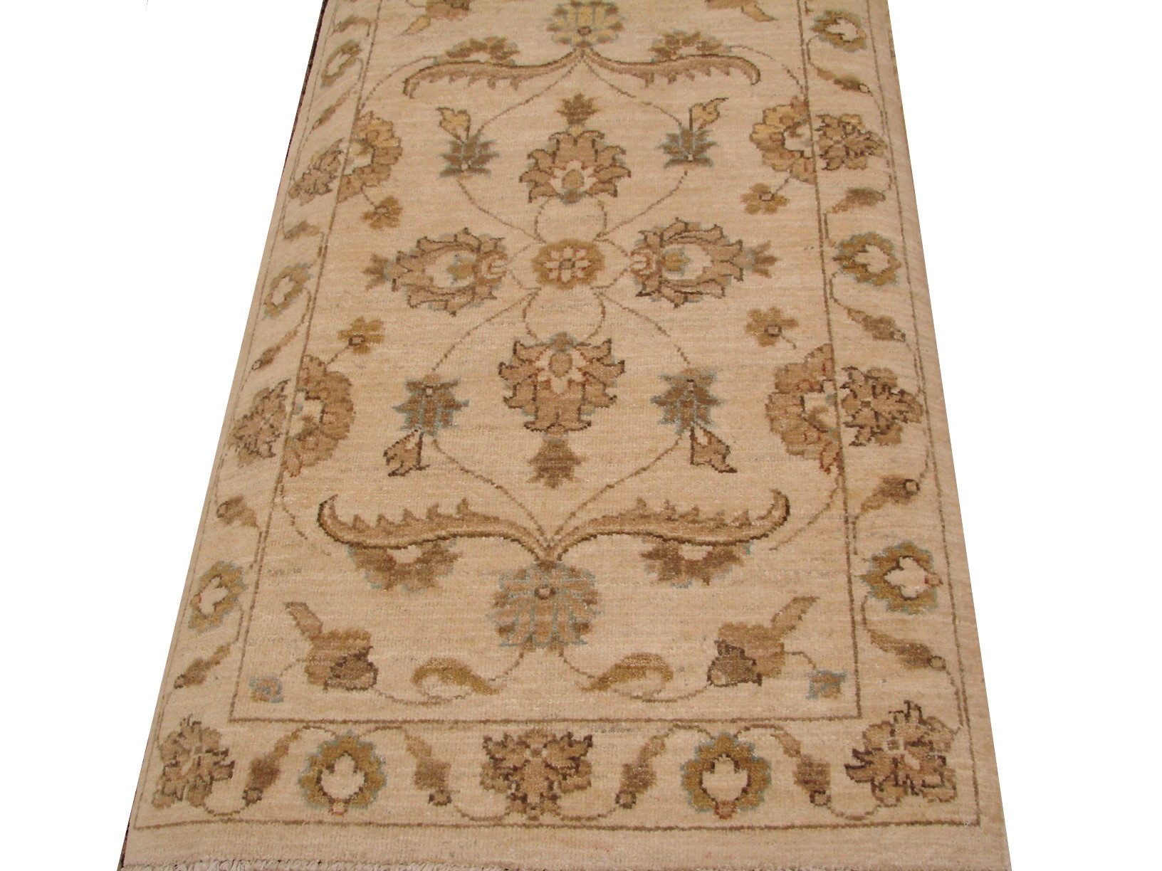 2X4 Peshawar Hand Knotted Wool Area Rug - MR12750