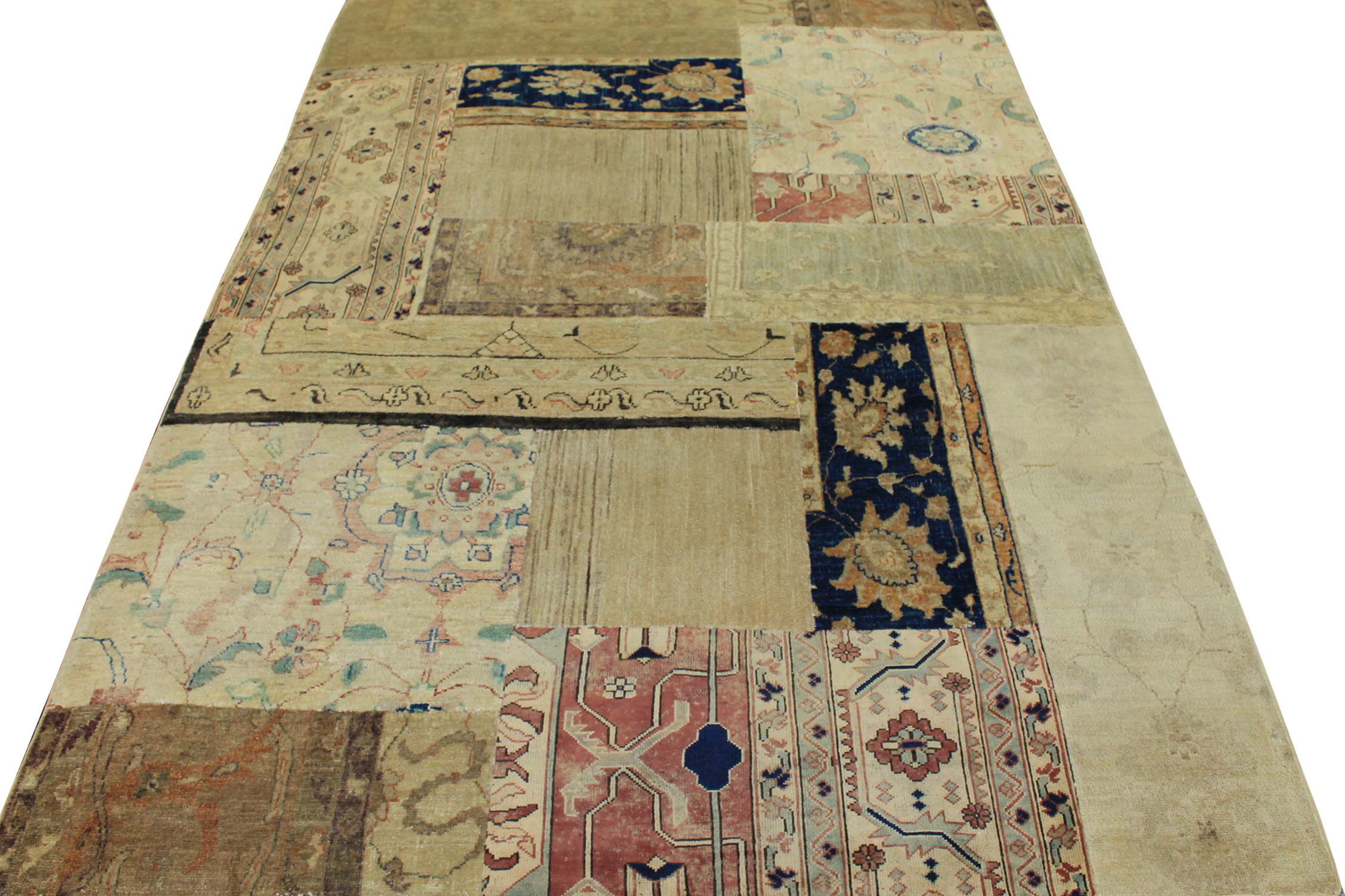 5x7/8 Peshawar Hand Knotted Wool Area Rug - MR12755