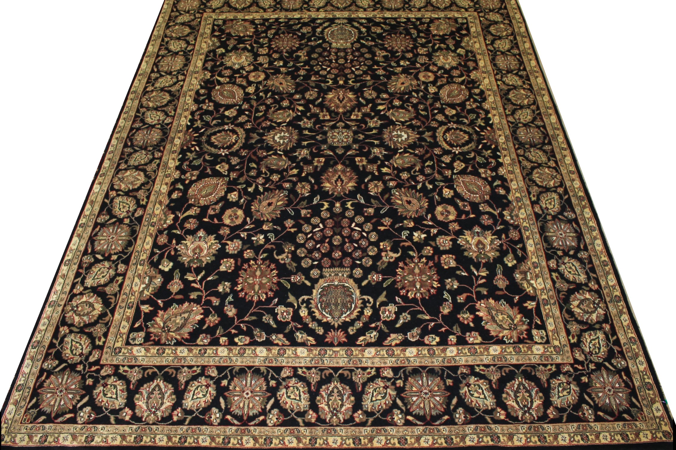 8x10 Traditional Hand Knotted Wool Area Rug - MR12888