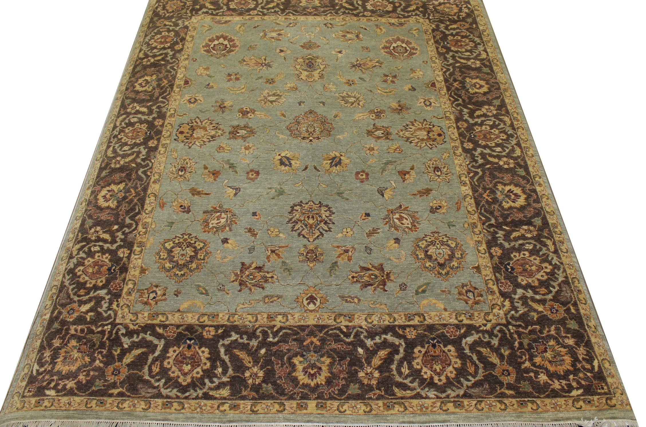 8x10 Traditional Hand Knotted Wool Area Rug - MR12932