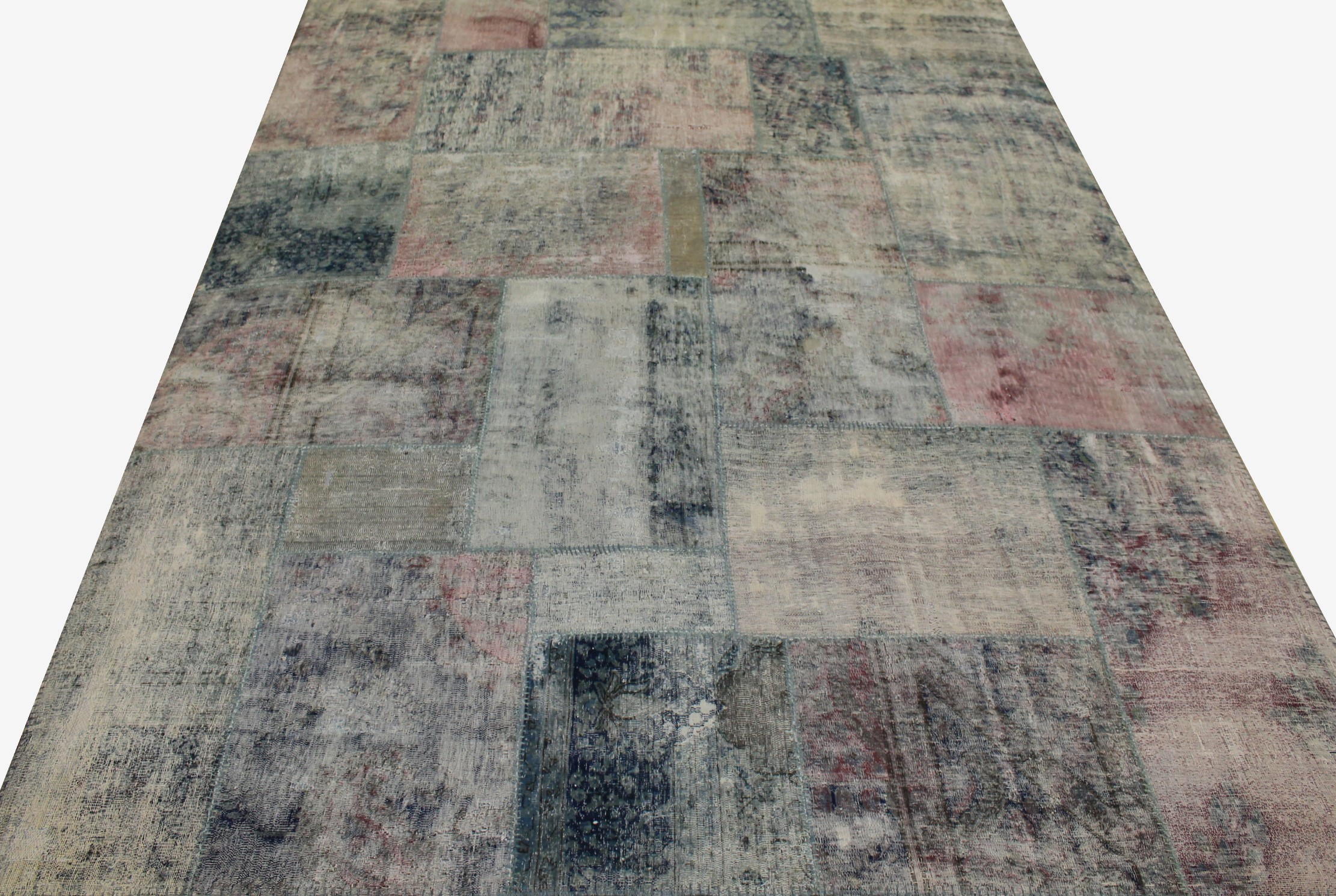 8x10 Contemporary Hand Knotted Wool Area Rug - MR13004