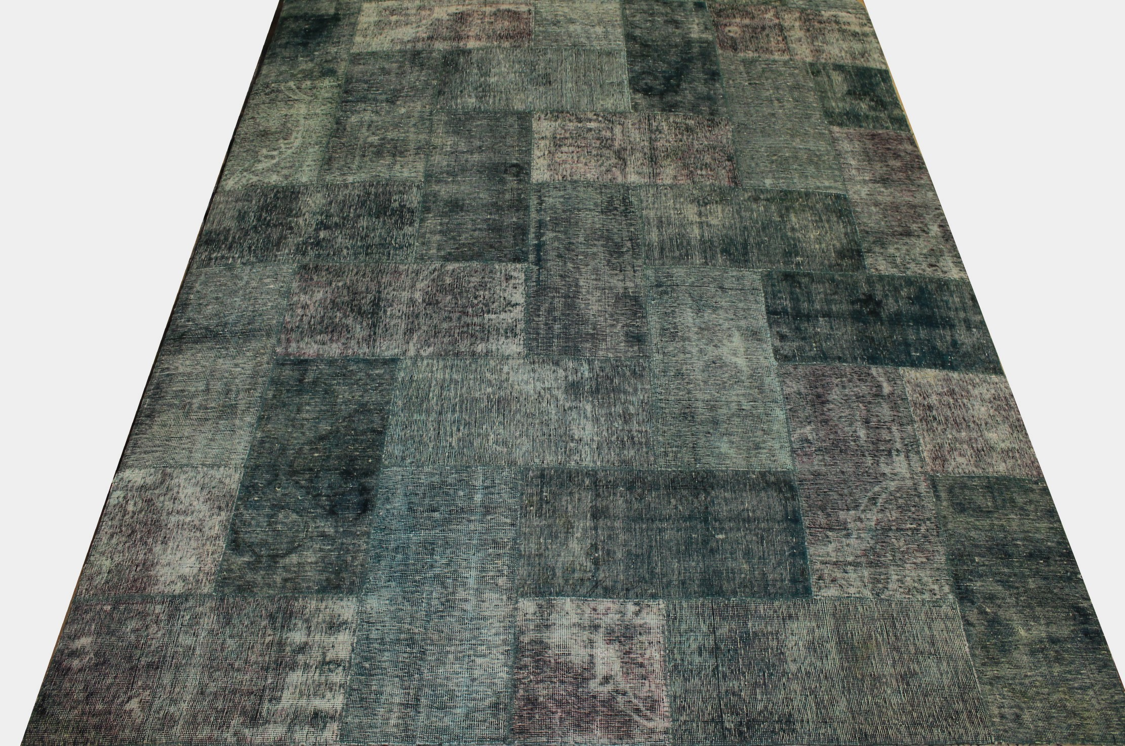 8x10 Contemporary Hand Knotted Wool Area Rug - MR13005