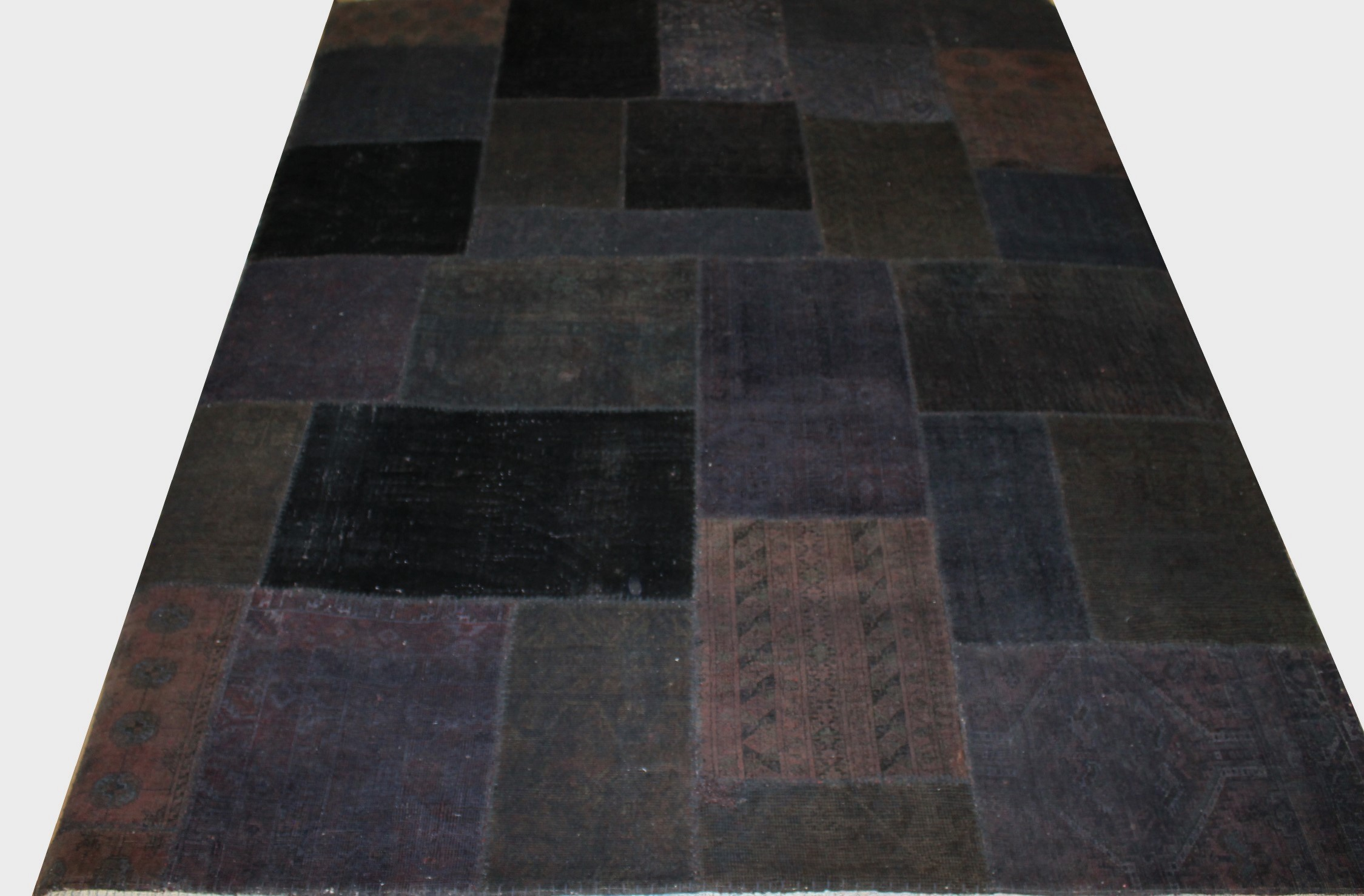 8x10 Contemporary Hand Knotted Wool Area Rug - MR13007