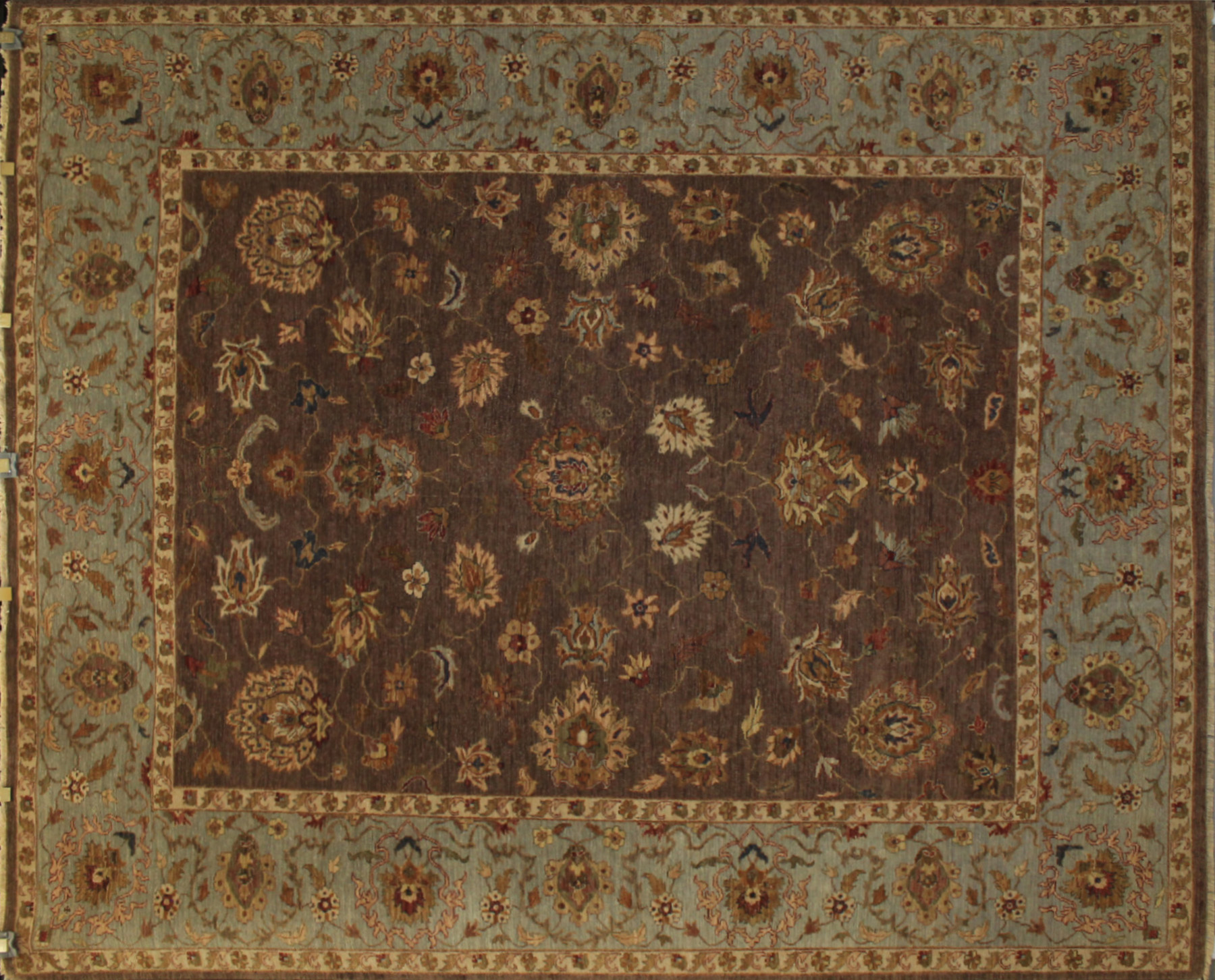 8x10 Traditional Hand Knotted Wool Area Rug - MR13132