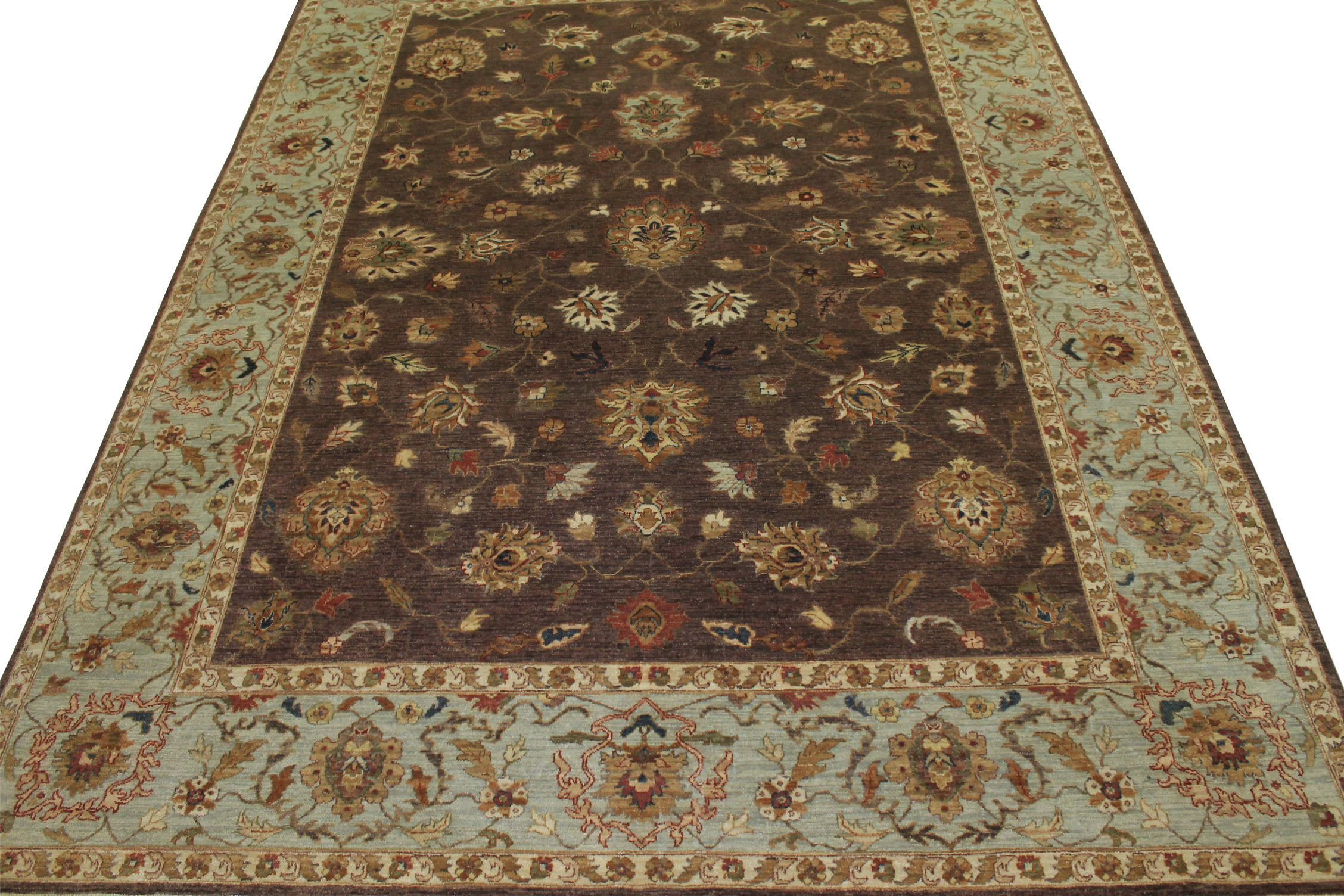9x12 Traditional Hand Knotted Wool Area Rug - MR13134