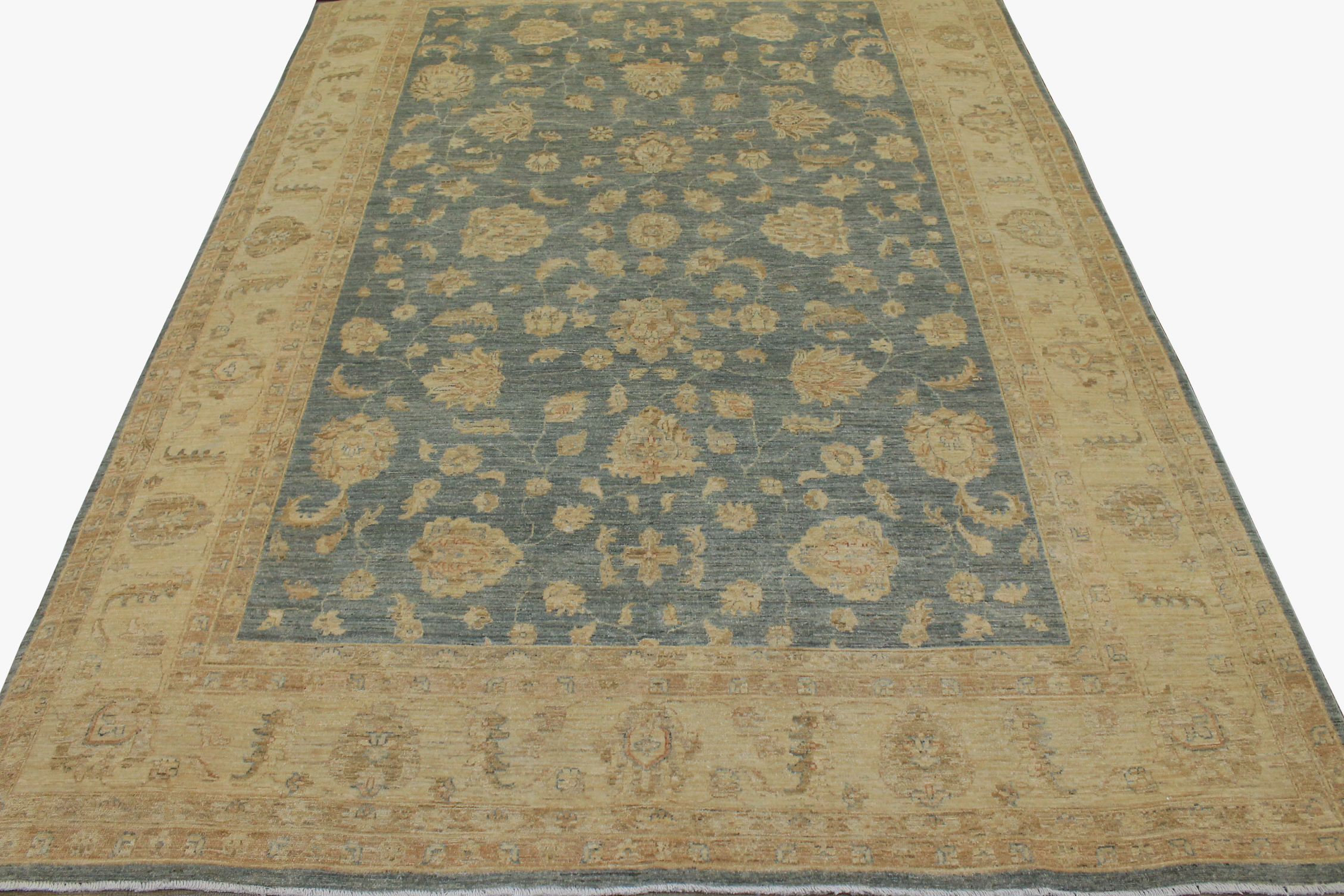 9x12 Peshawar Hand Knotted Wool Area Rug - MR13231