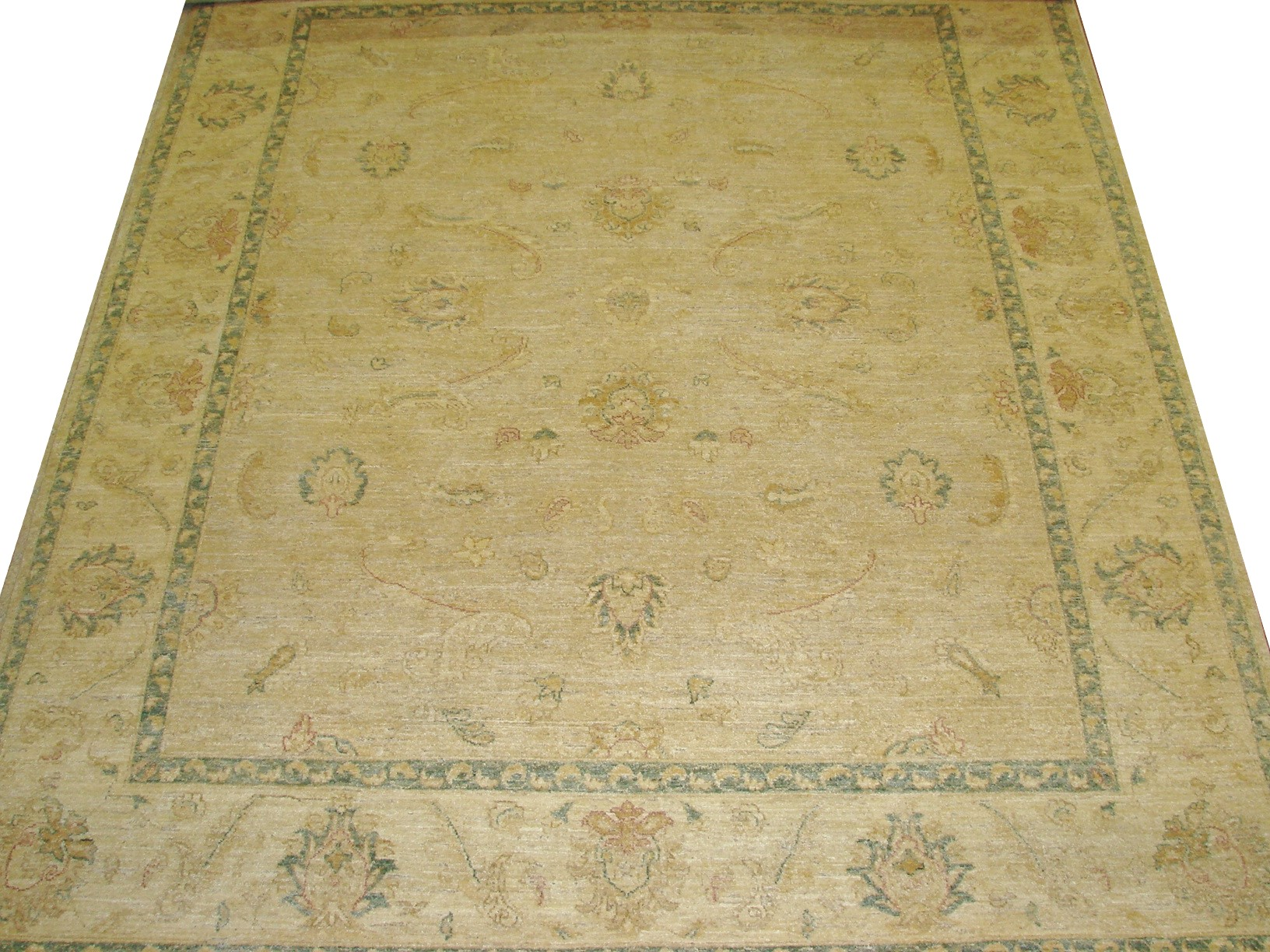 8x10 Peshawar Hand Knotted Wool Area Rug - MR13266
