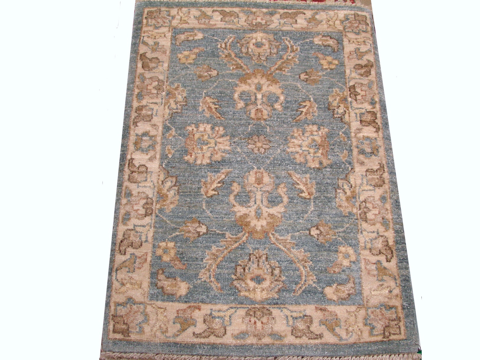 2X3 Peshawar Hand Knotted Wool Area Rug - MR13273