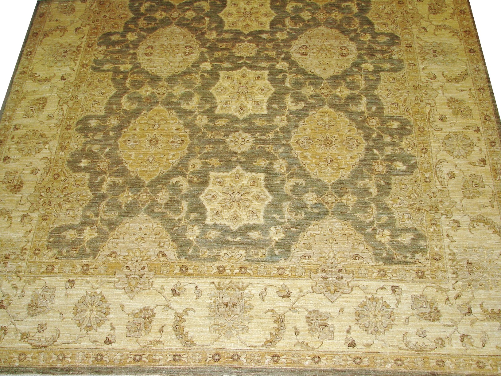 8x10 Peshawar Hand Knotted Wool Area Rug - MR13313