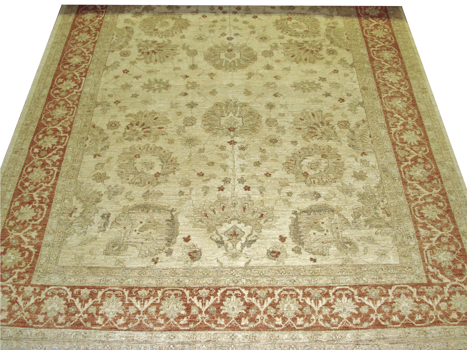 9x12 Peshawar Hand Knotted Wool Area Rug - MR13358