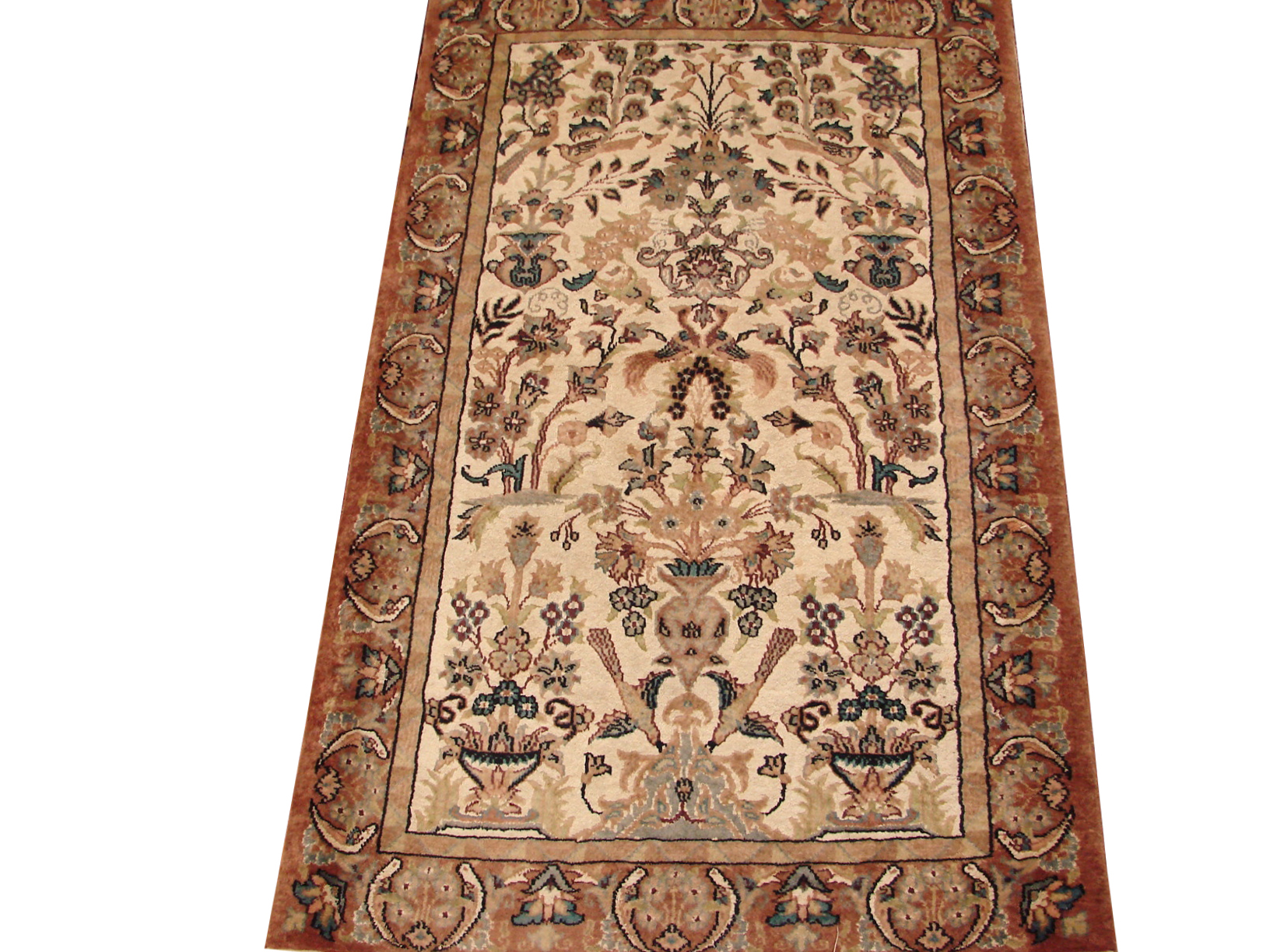2X4 Traditional Hand Knotted Wool Area Rug - MR13489