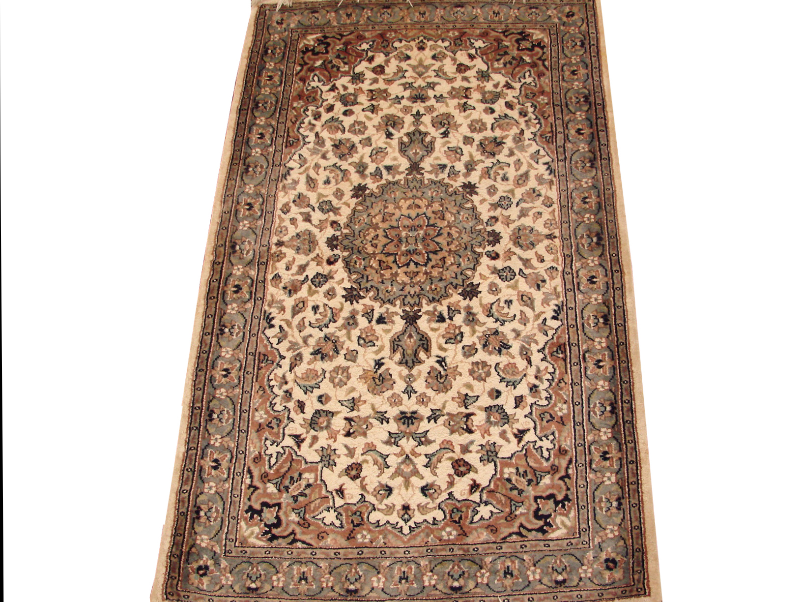 2X4 Traditional Hand Knotted Wool Area Rug - MR13490