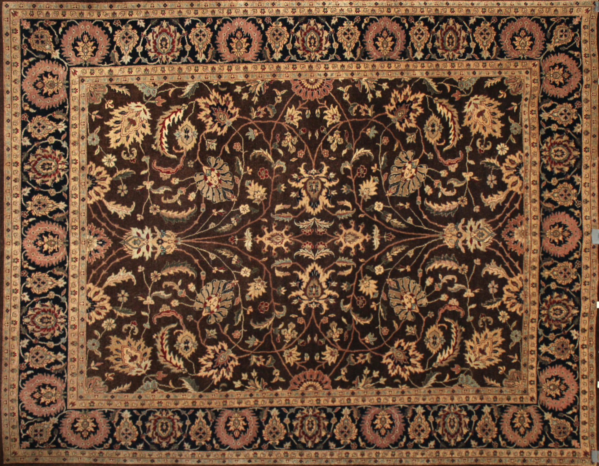 8x10 Traditional Hand Knotted Wool Area Rug - MR13725