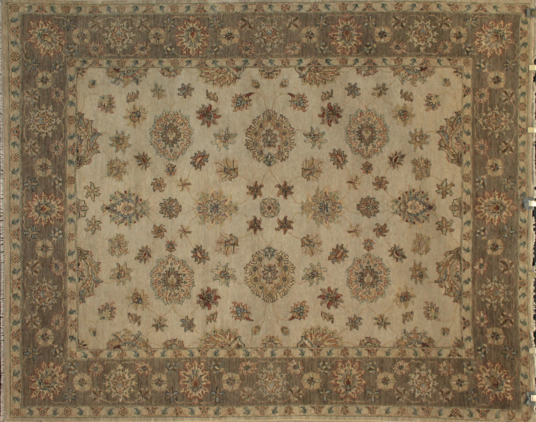 8x10 Traditional Hand Knotted Wool Area Rug - MR13865