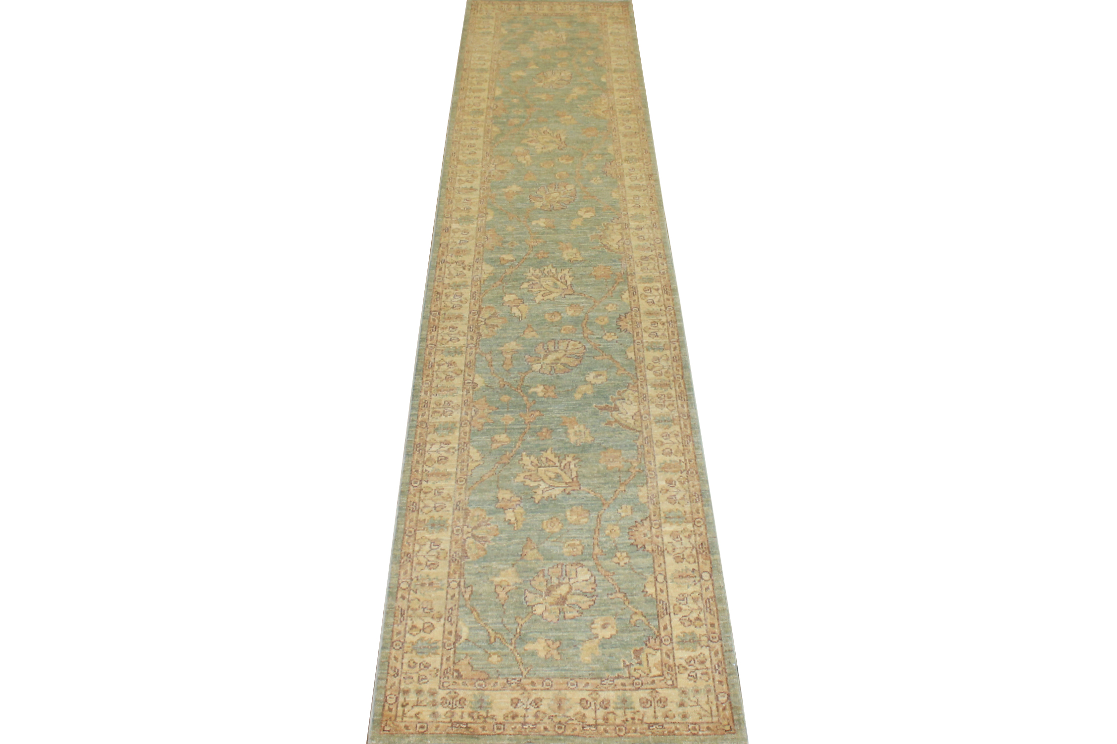Select Size Peshawar Hand Knotted Wool Area Rug - MR13889