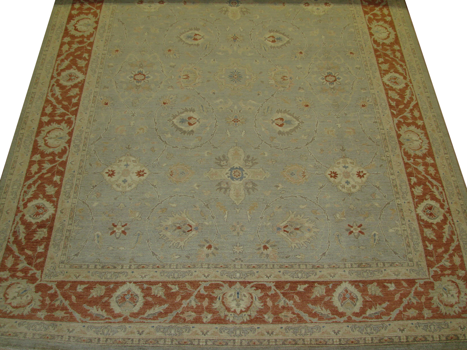 9x12 Peshawar Hand Knotted Wool Area Rug - MR13921
