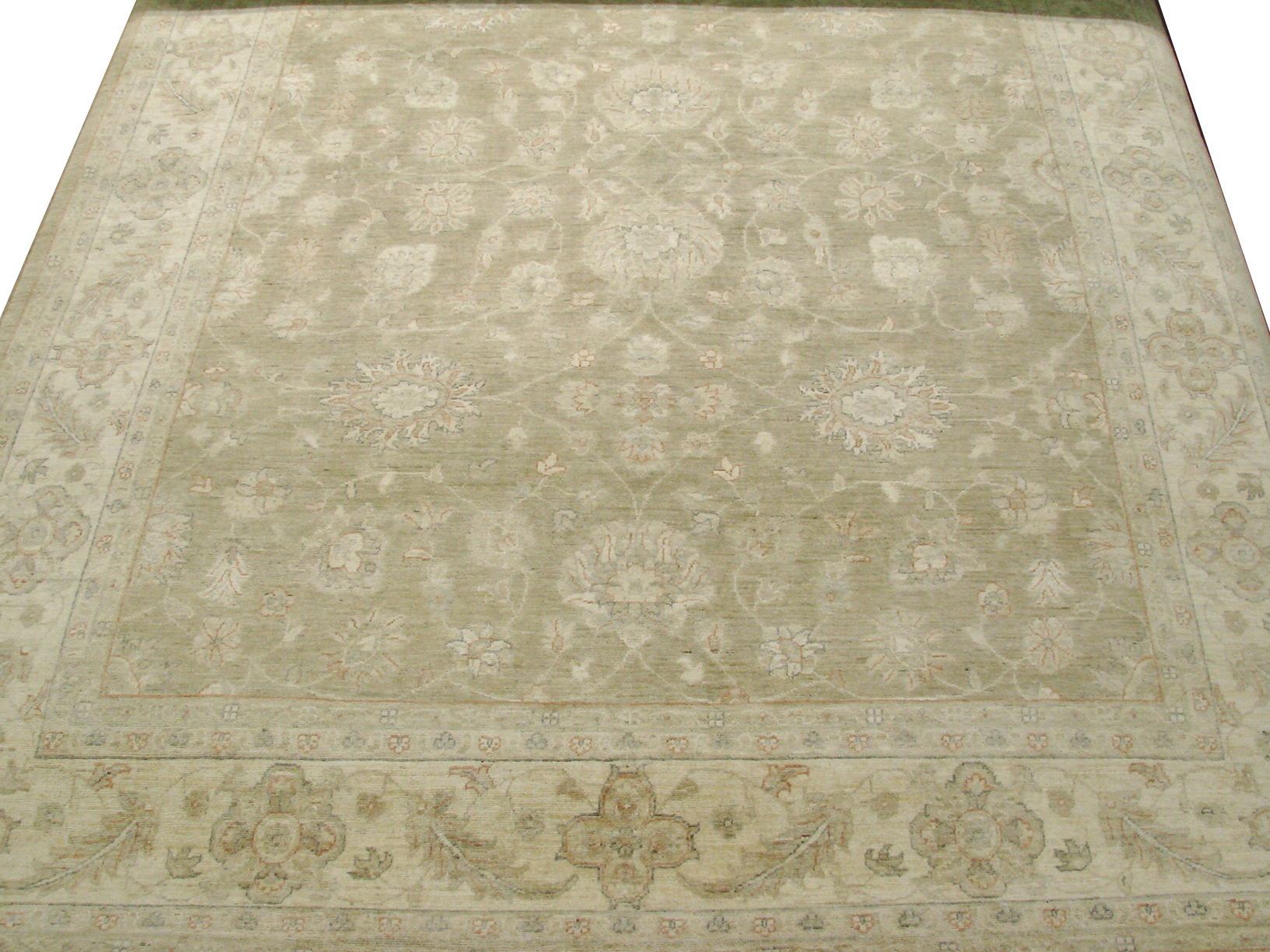 8x10 Peshawar Hand Knotted Wool Area Rug - MR14210