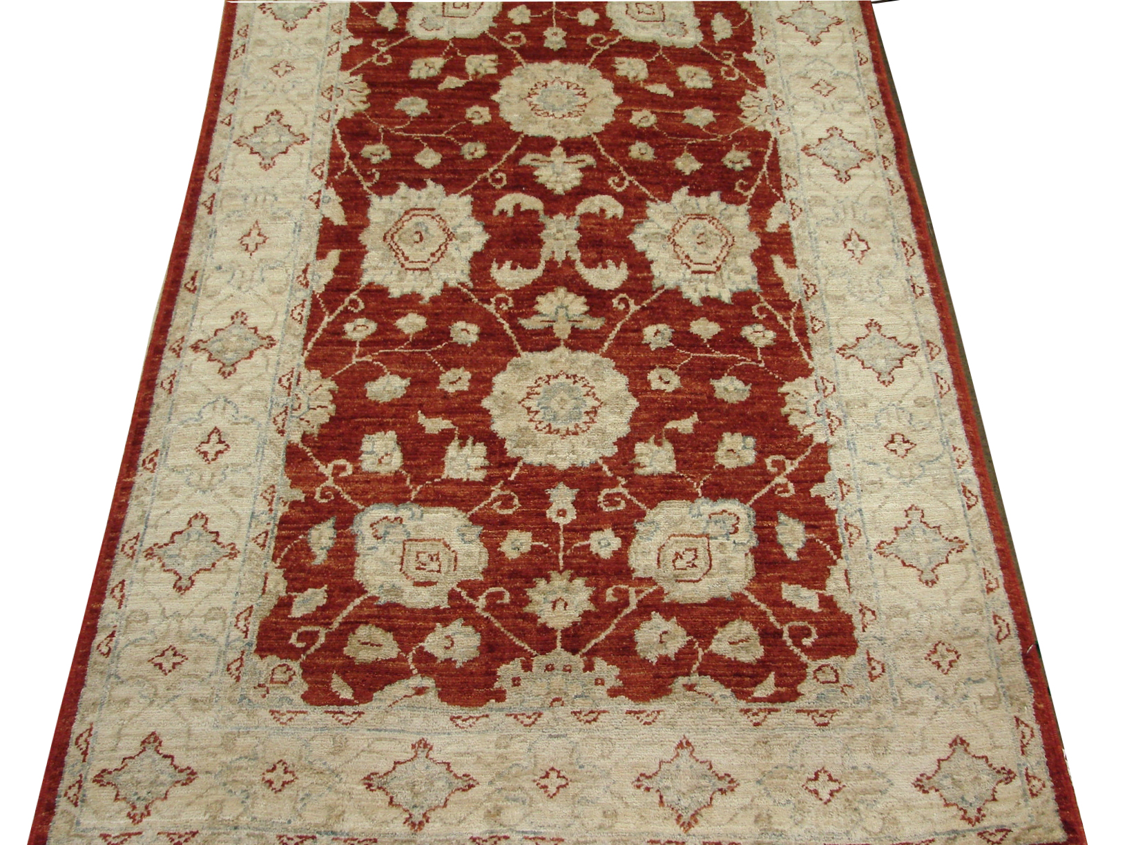 3x5 Peshawar Hand Knotted Wool Area Rug - MR14221