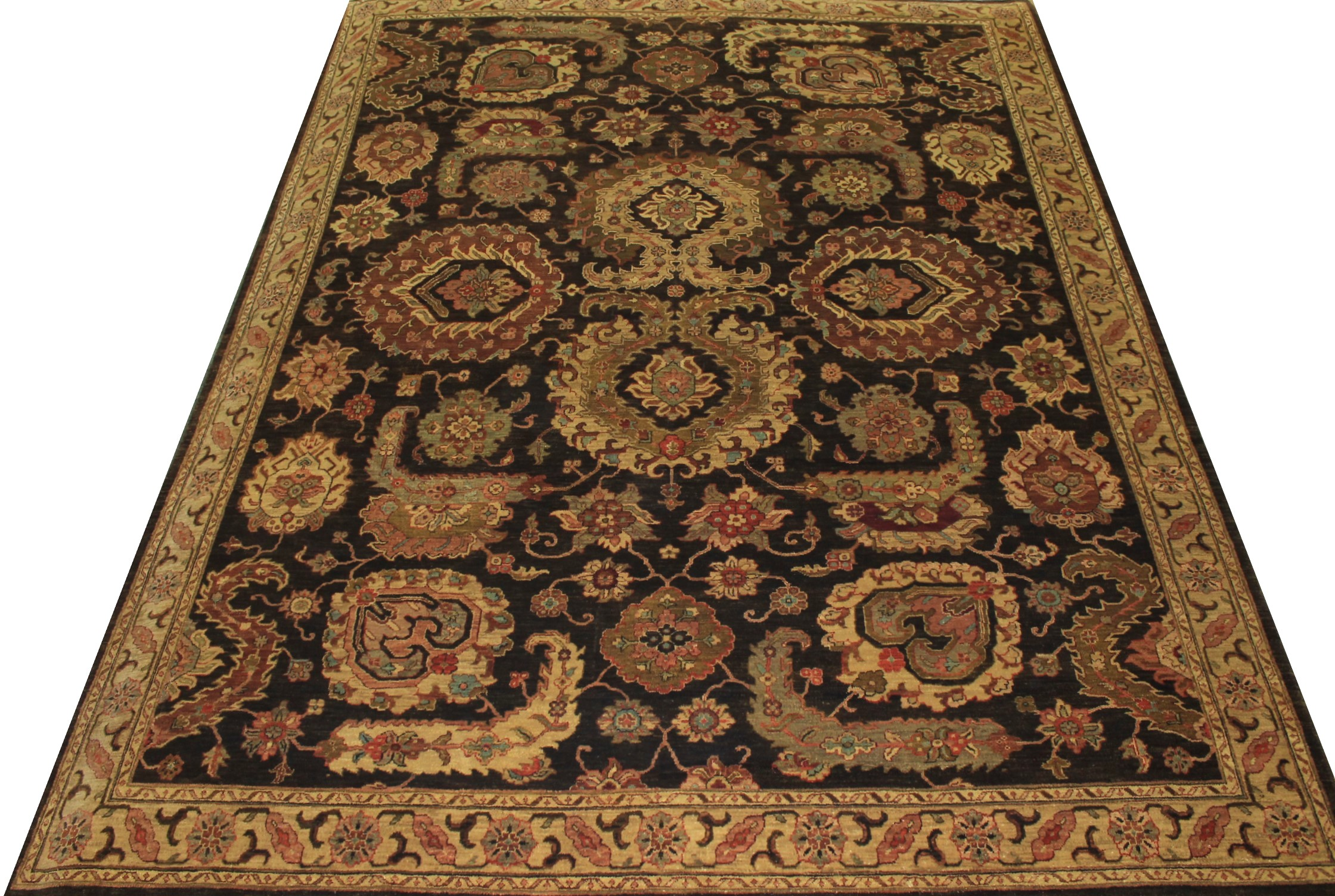 8x10 Antique Revival Hand Knotted Wool Area Rug - MR14302