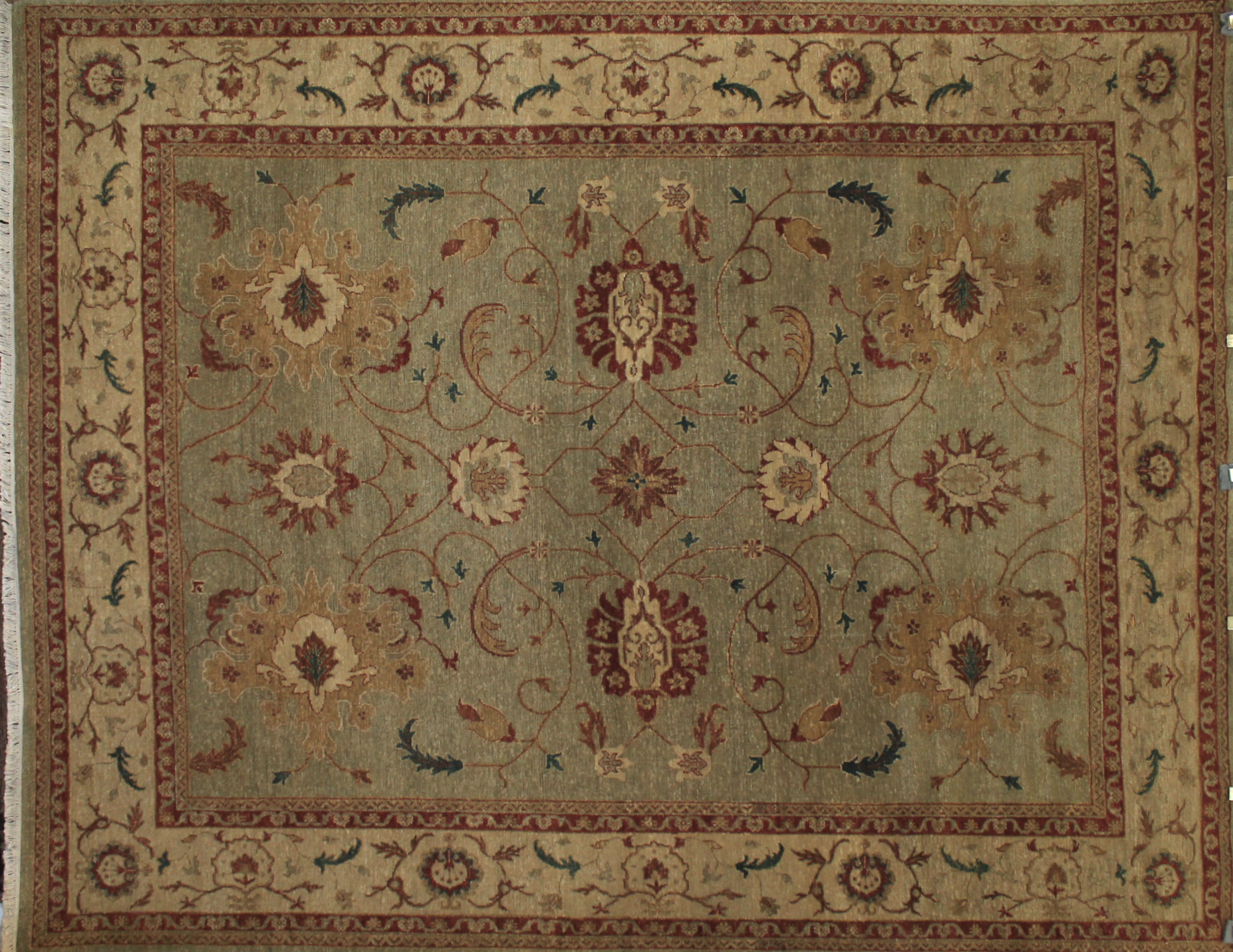 8x10 Traditional Hand Knotted Wool Area Rug - MR14311