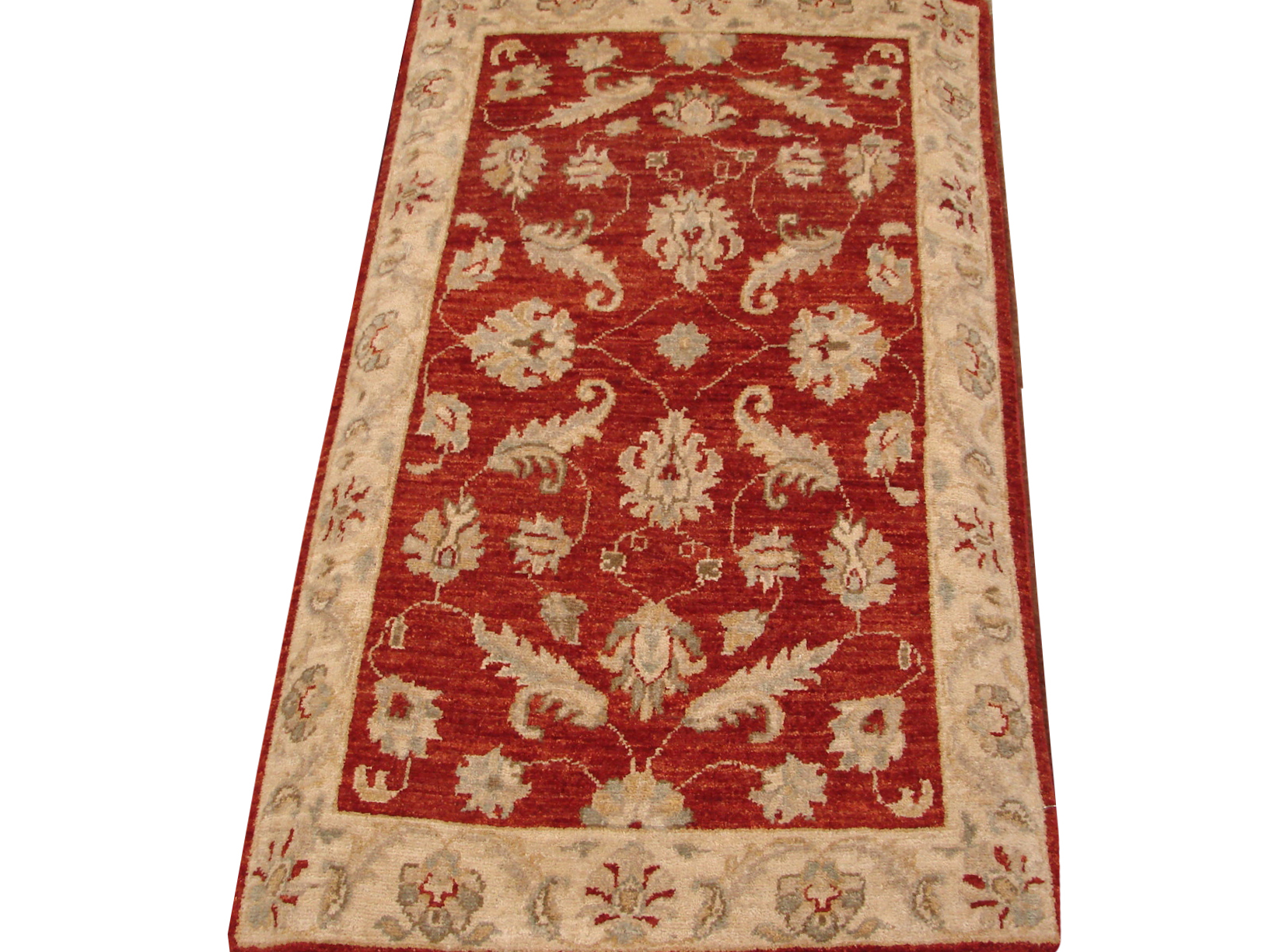 2X4 Peshawar Hand Knotted Wool Area Rug - MR14441