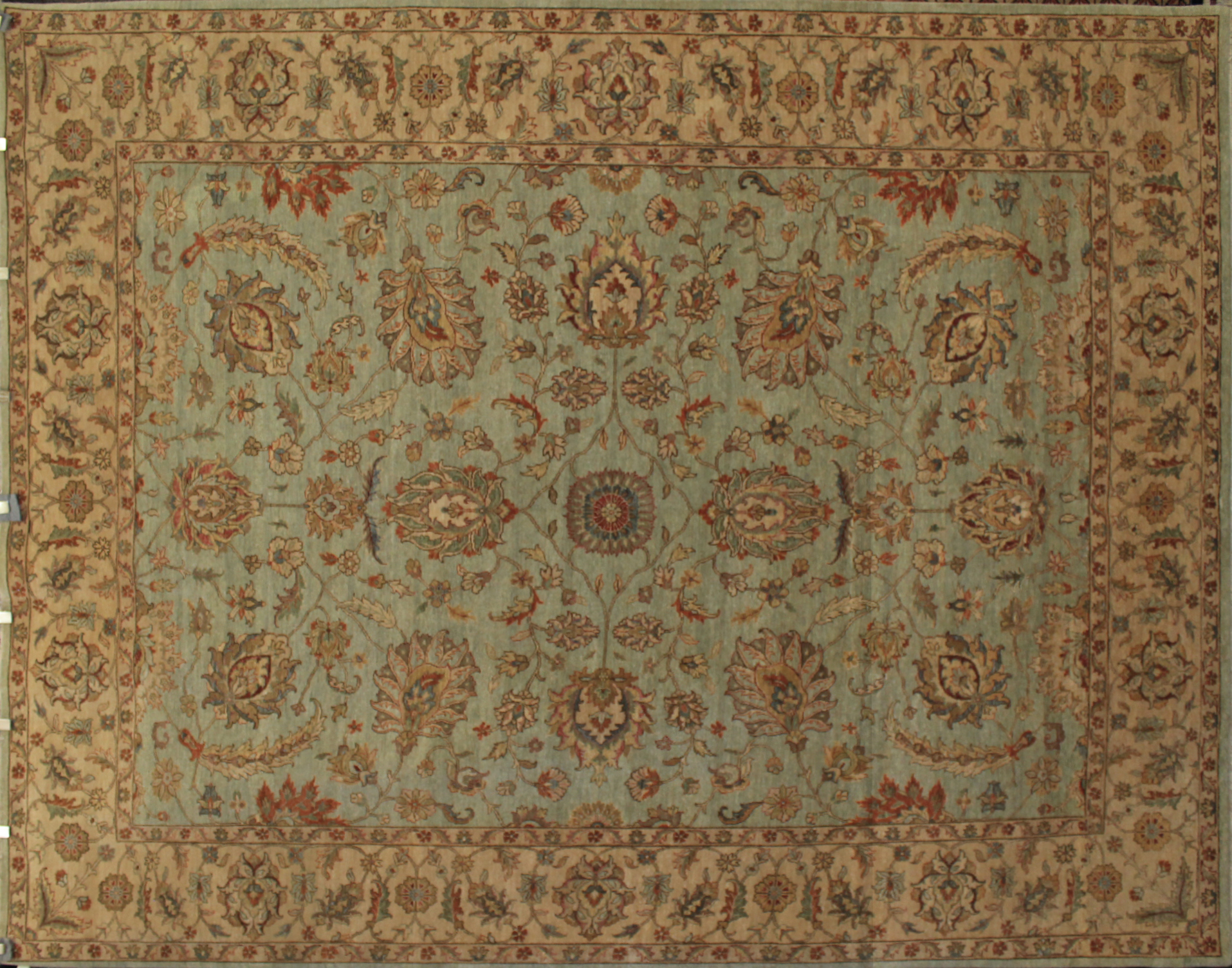 9x12 Traditional Hand Knotted Wool Area Rug - MR14591